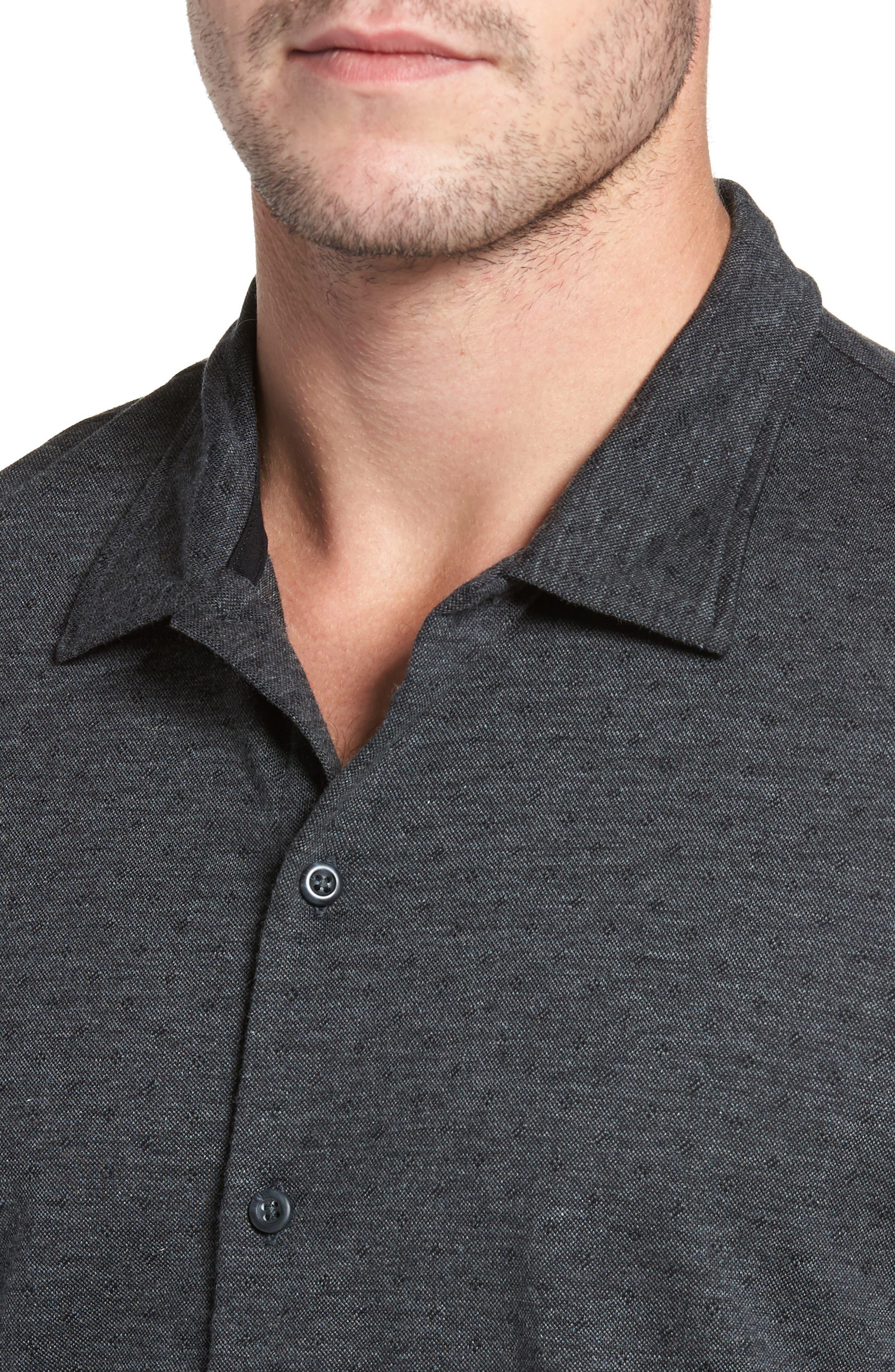 Jacquard Knit Sport Shirt,                             Alternate thumbnail 13, color,