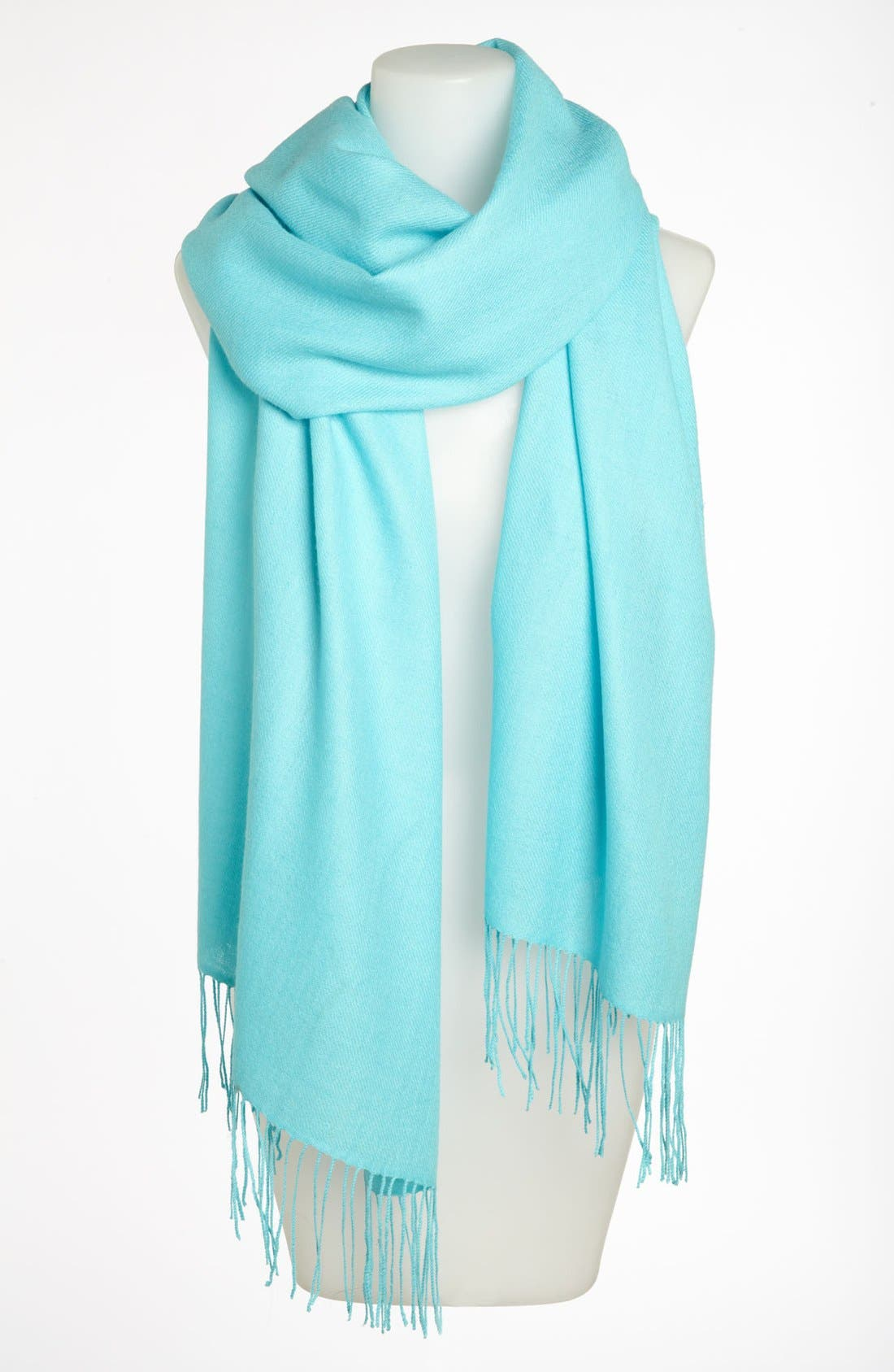 Tissue Weight Wool & Cashmere Wrap,                             Main thumbnail 85, color,