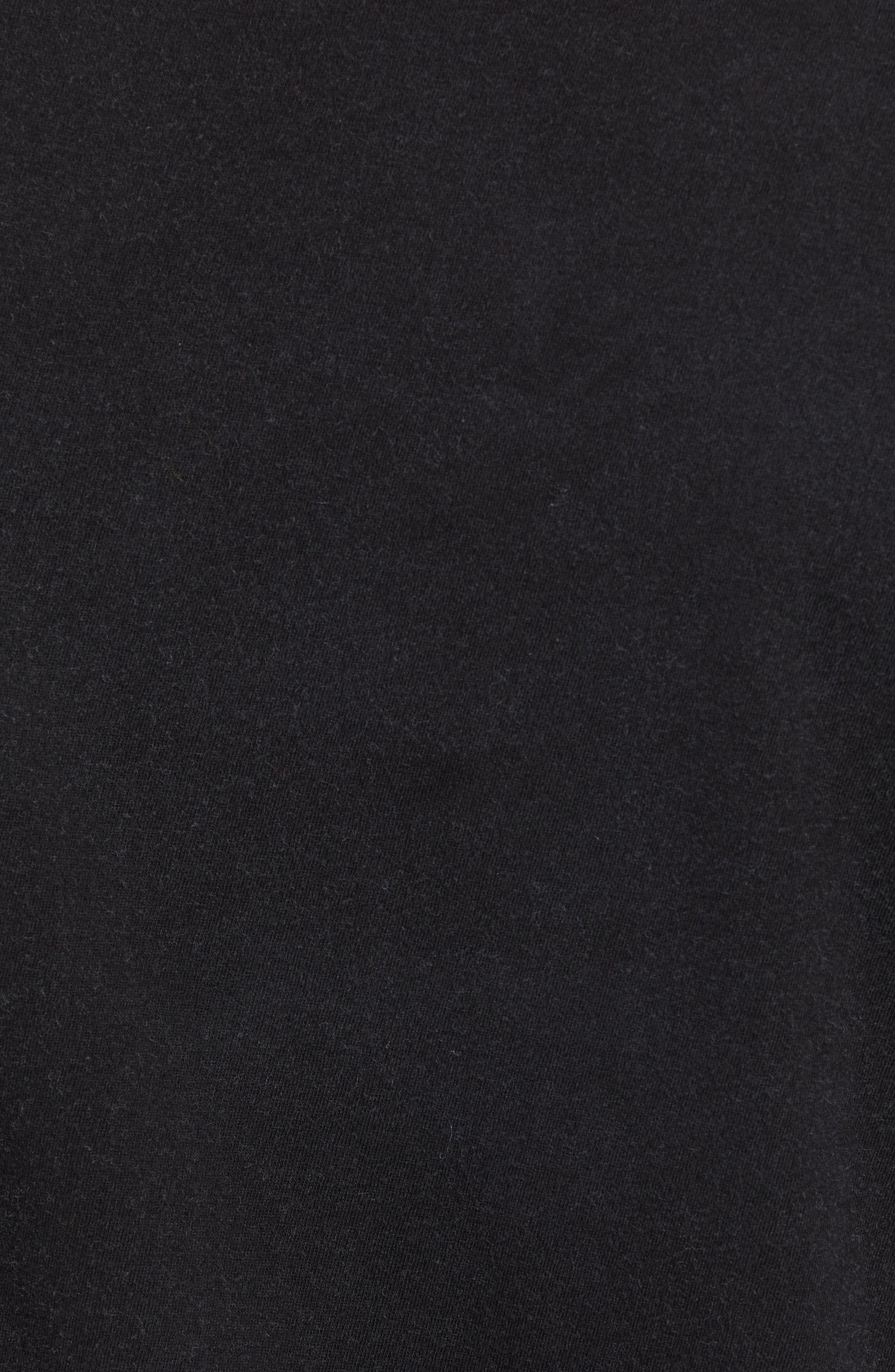 We're Back Graphic T-Shirt,                             Alternate thumbnail 5, color,                             BLACK