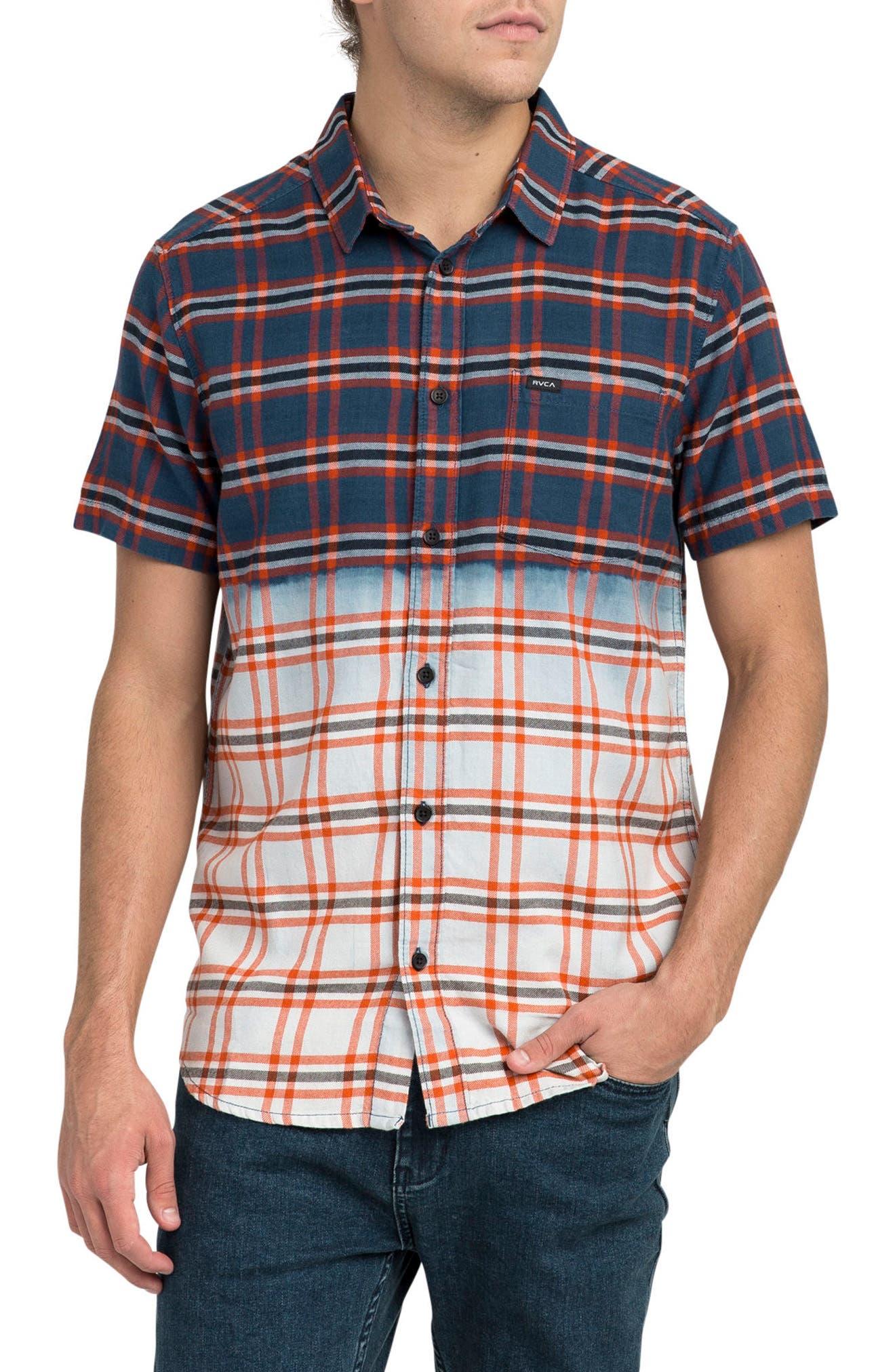 Prismatic Check Woven Shirt,                         Main,                         color, 458