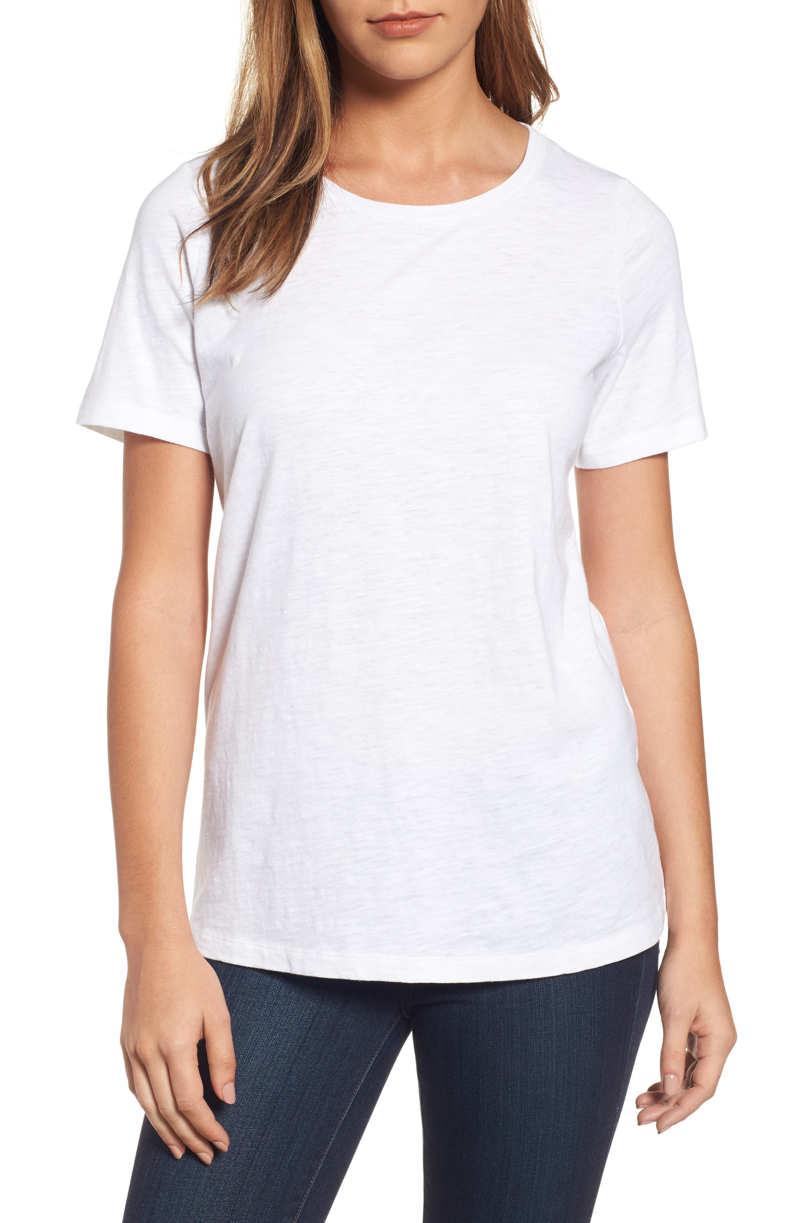 Organic Cotton Tee,                         Main,                         color, 100