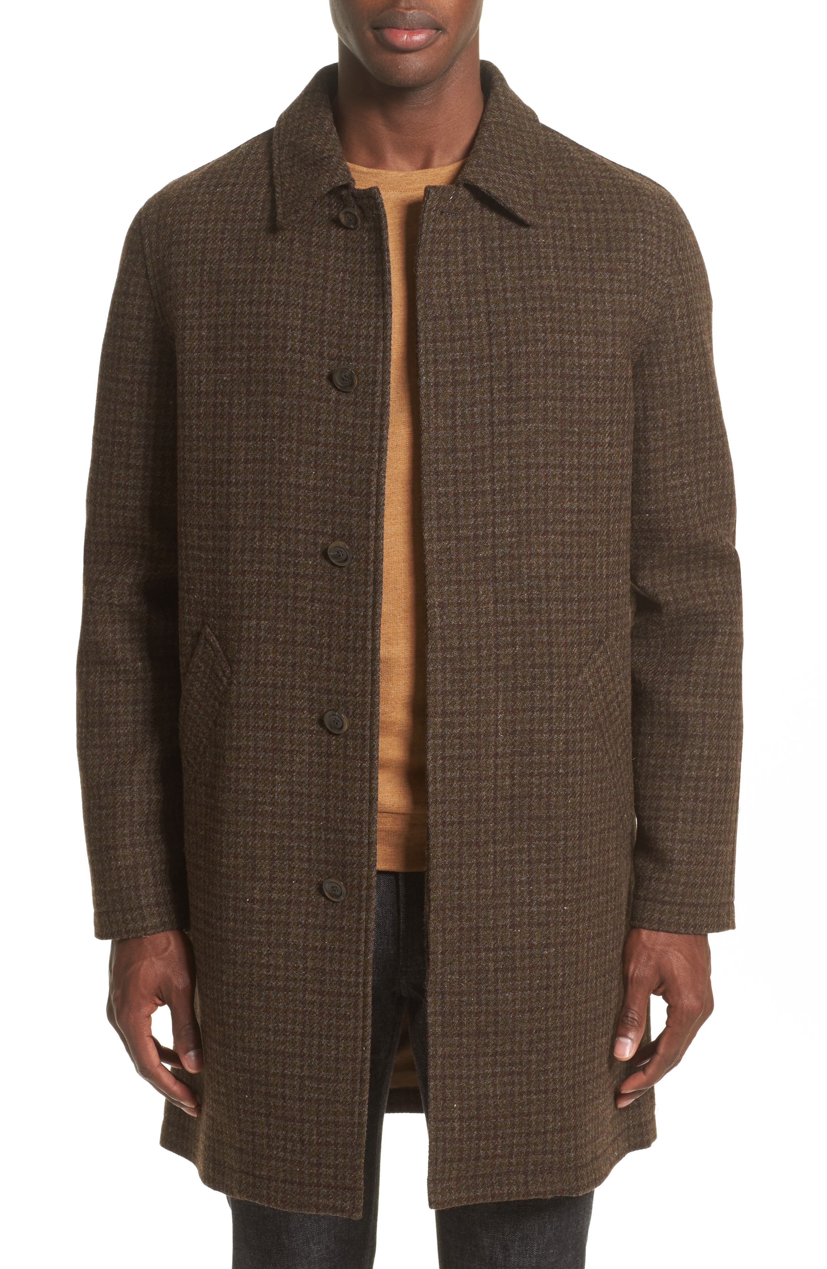 Tweed Overcoat,                             Main thumbnail 1, color,                             934