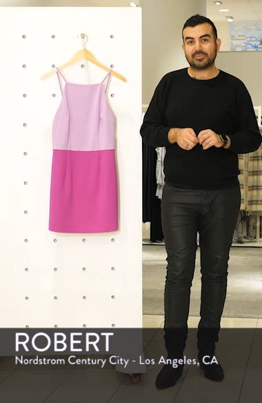 Whisper Colorblock Minidress, sales video thumbnail