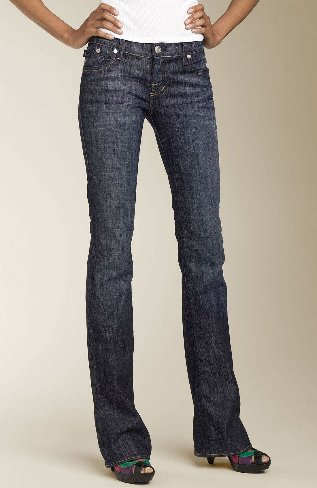 ROCK & REPUBLIC,                             'Kasandra' Bootcut Stretch Jeans,                             Alternate thumbnail 2, color,                             400