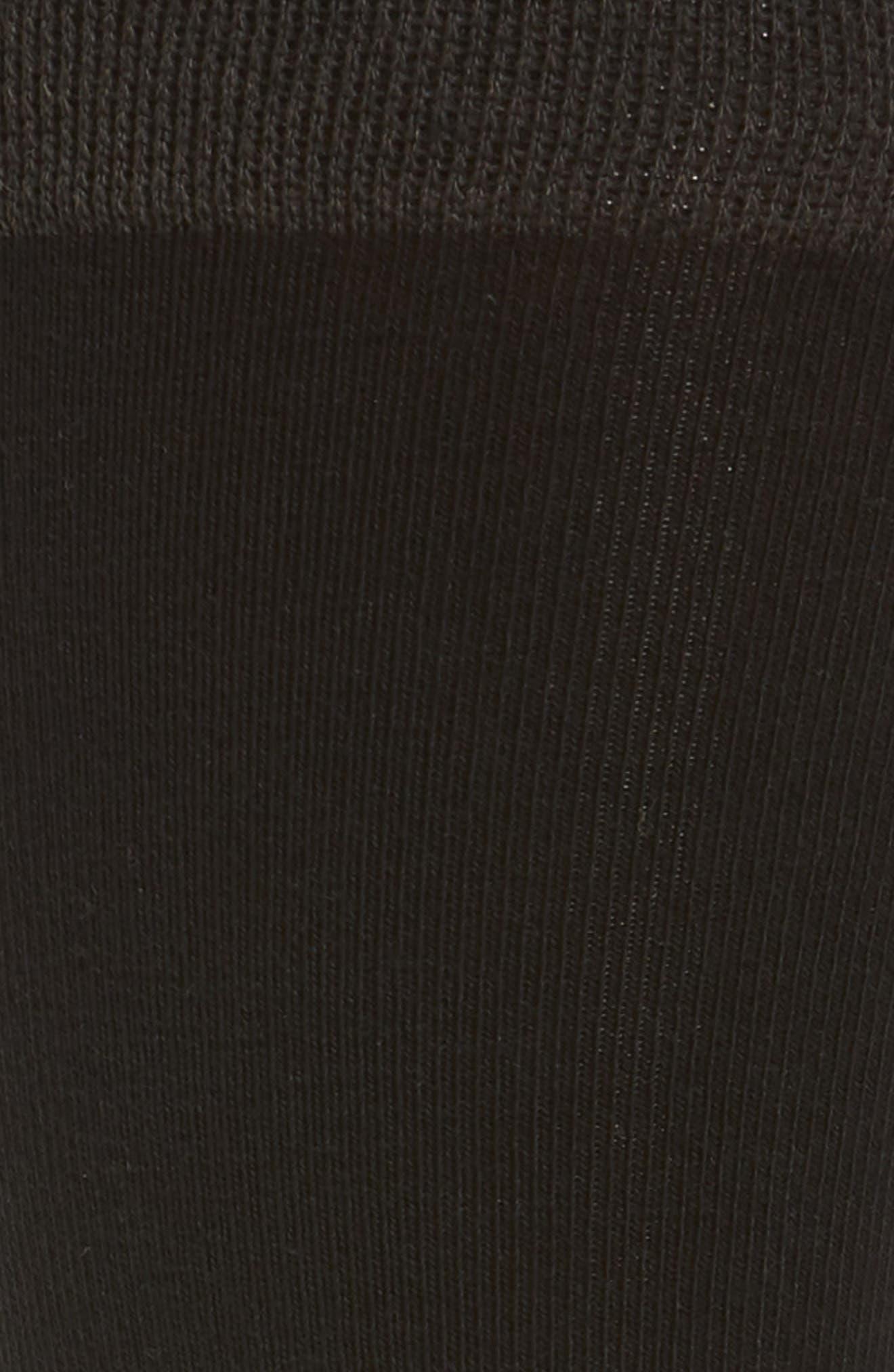 Solid Dress Socks,                             Alternate thumbnail 2, color,                             001