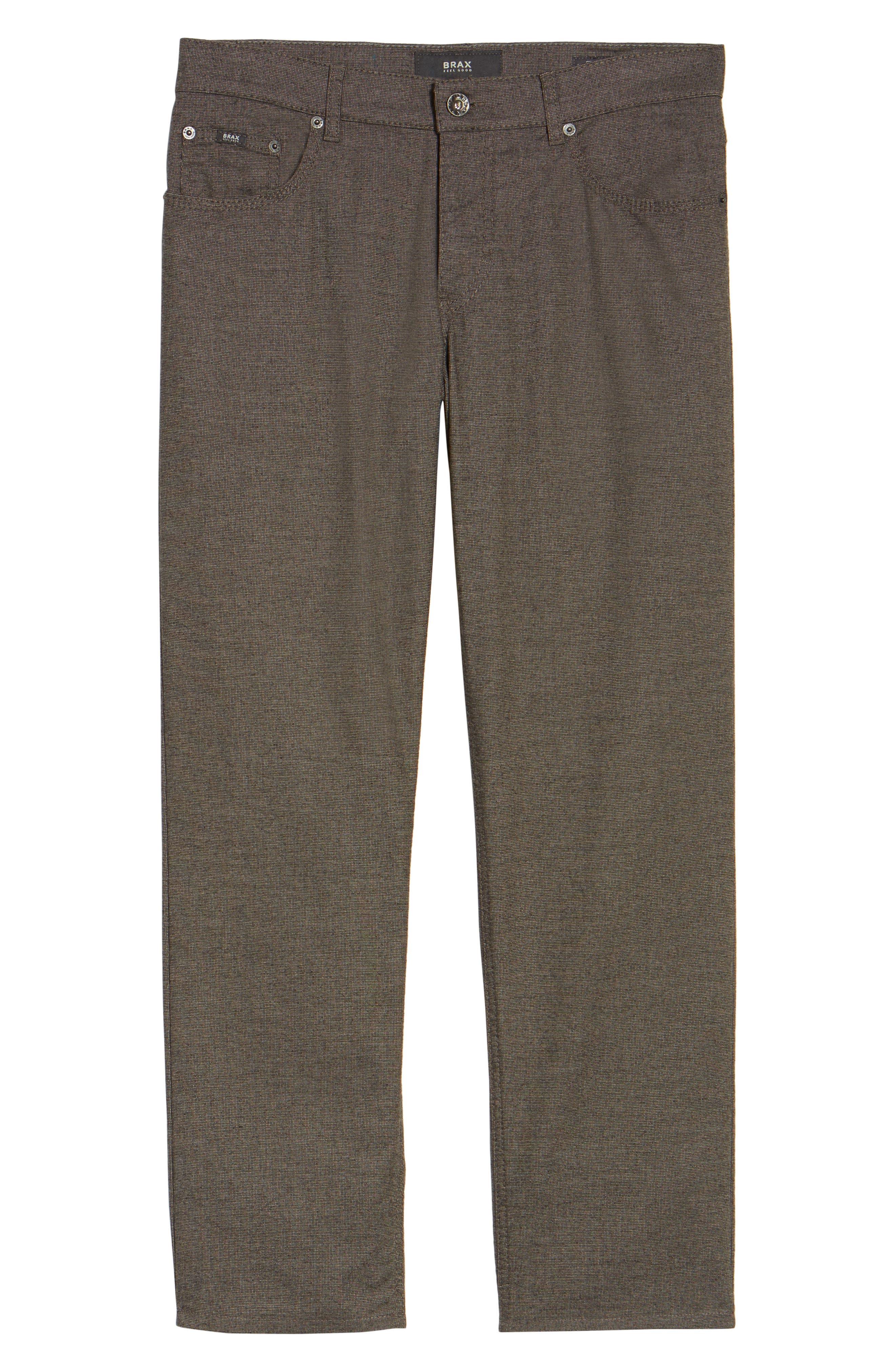 Five-Pocket Stretch Cotton Trousers,                             Alternate thumbnail 29, color,
