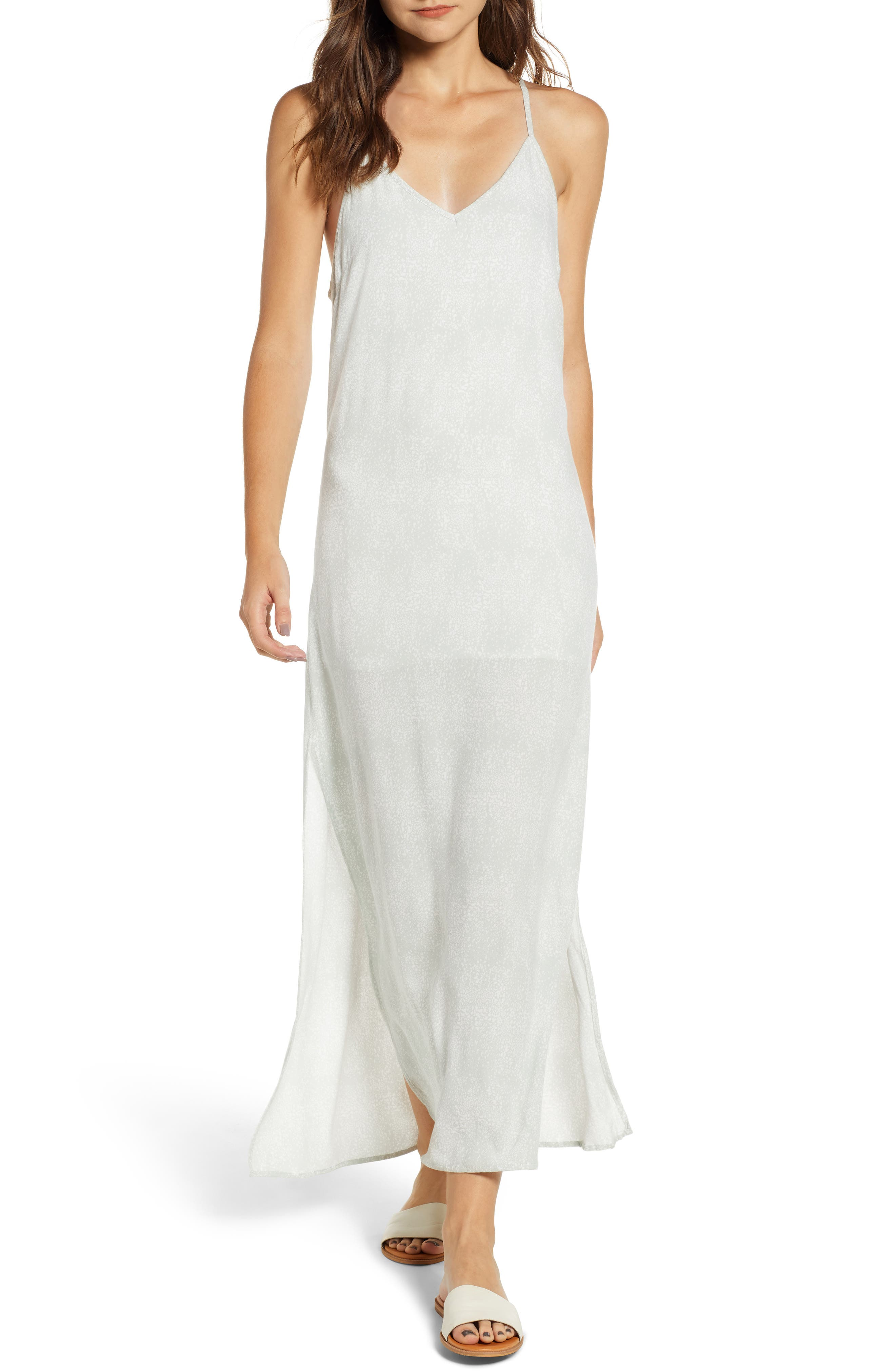 Misty Morning Maxi Dress,                         Main,                         color, DEW