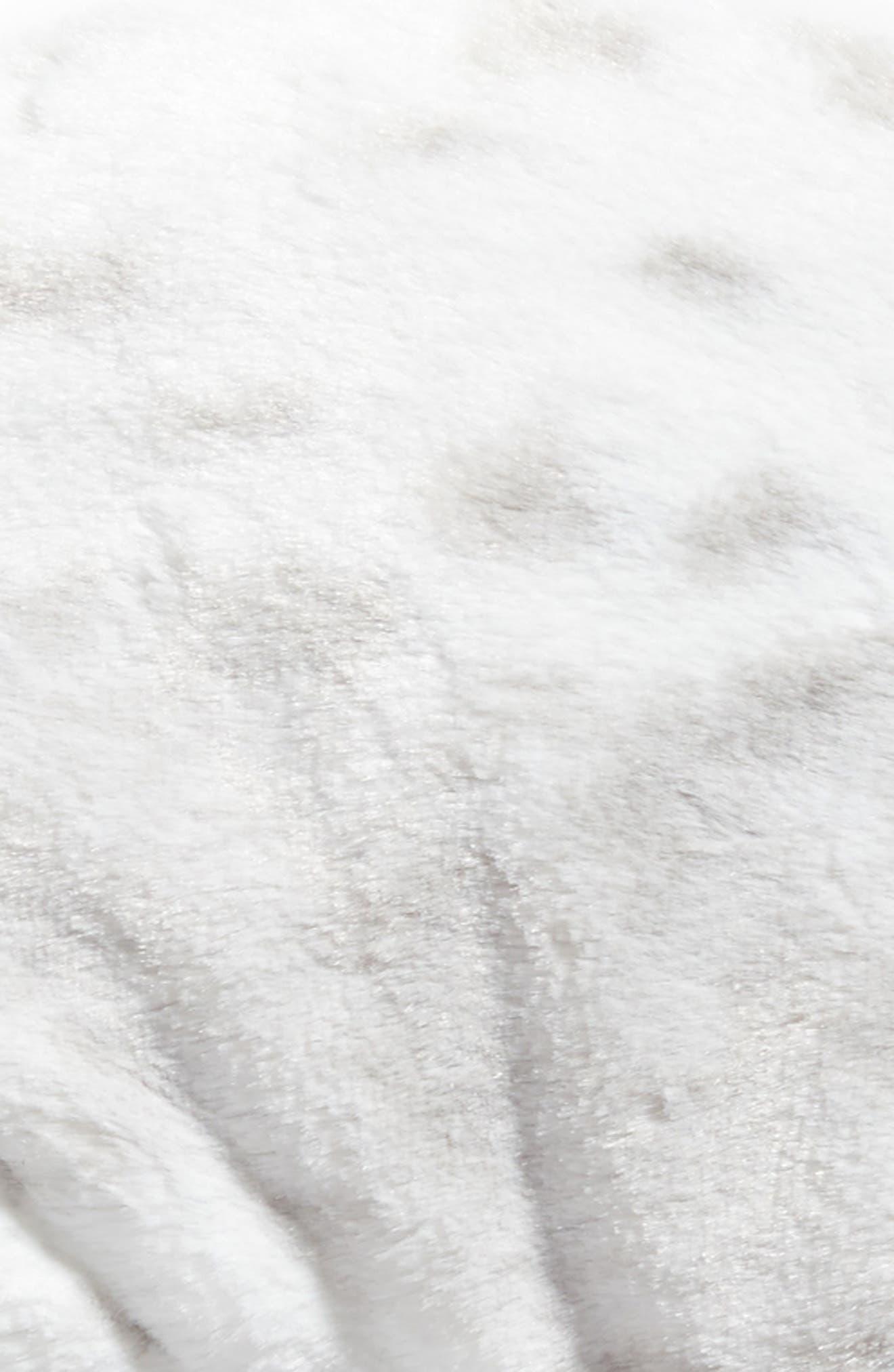 Siberian Leopard Neck Pillow,                             Alternate thumbnail 2, color,                             000