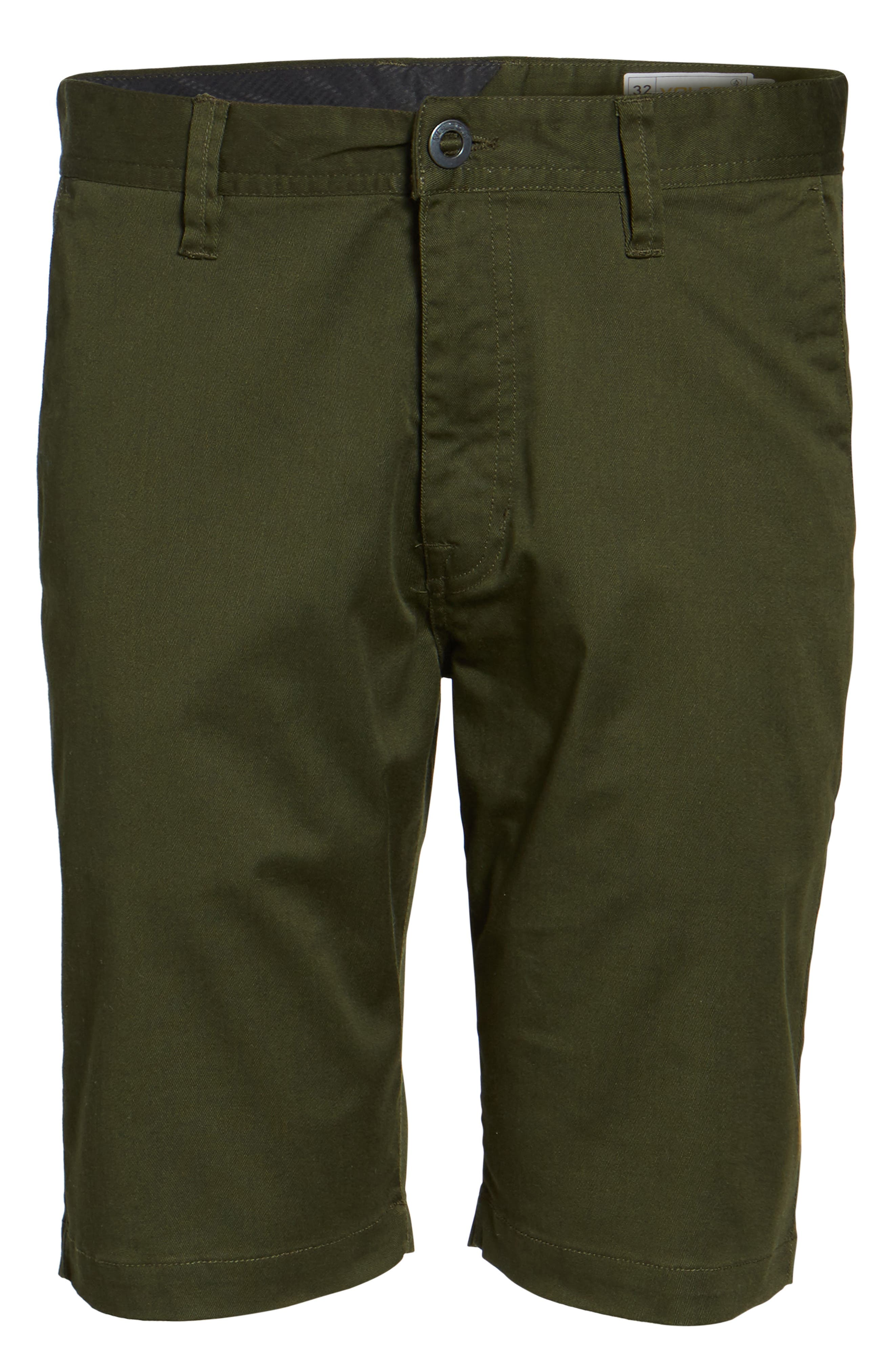 'Modern' Stretch Chino Shorts,                             Alternate thumbnail 53, color,