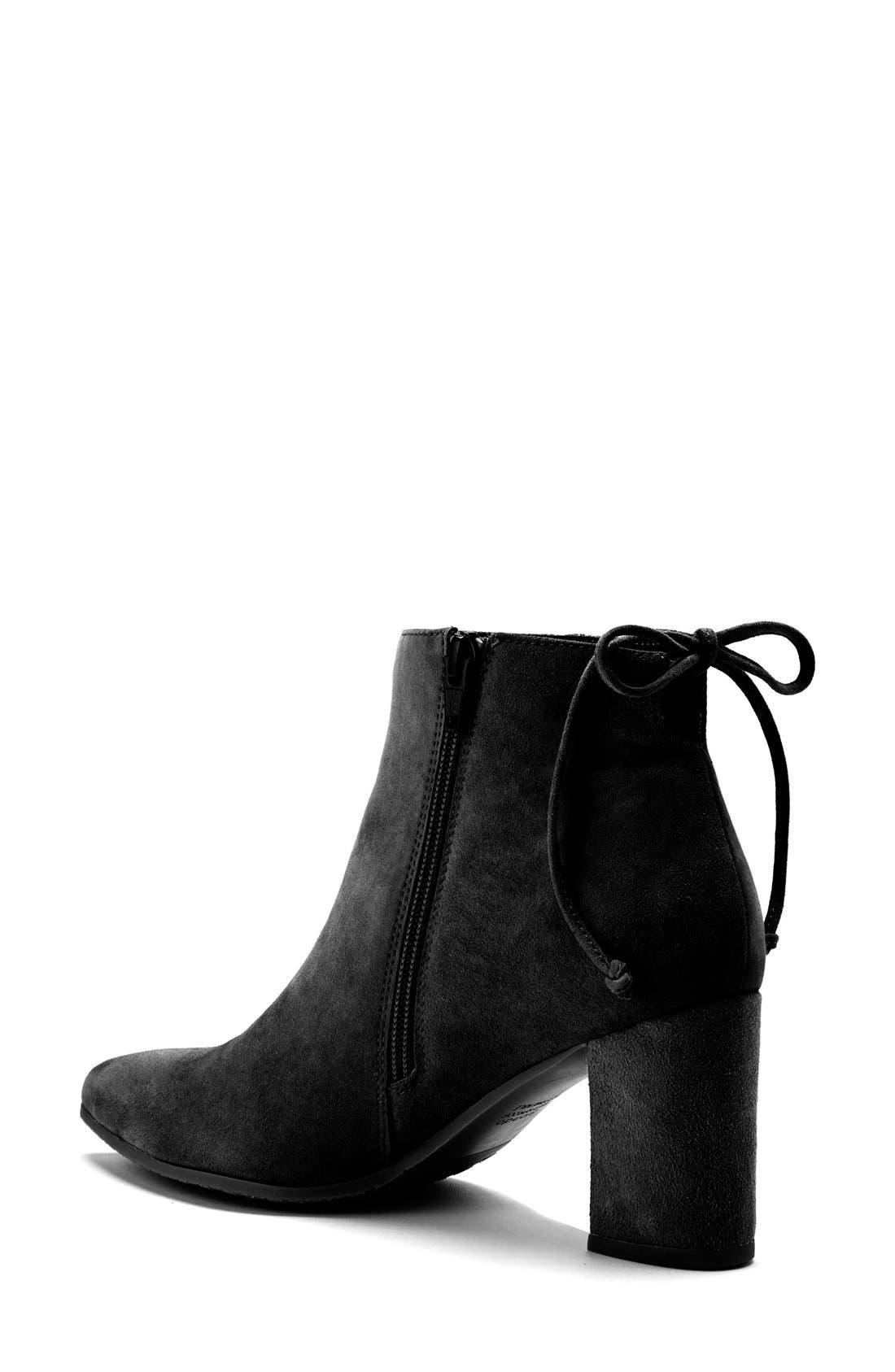 Tiana Waterproof Pointy Toe Bootie,                             Alternate thumbnail 2, color,                             006