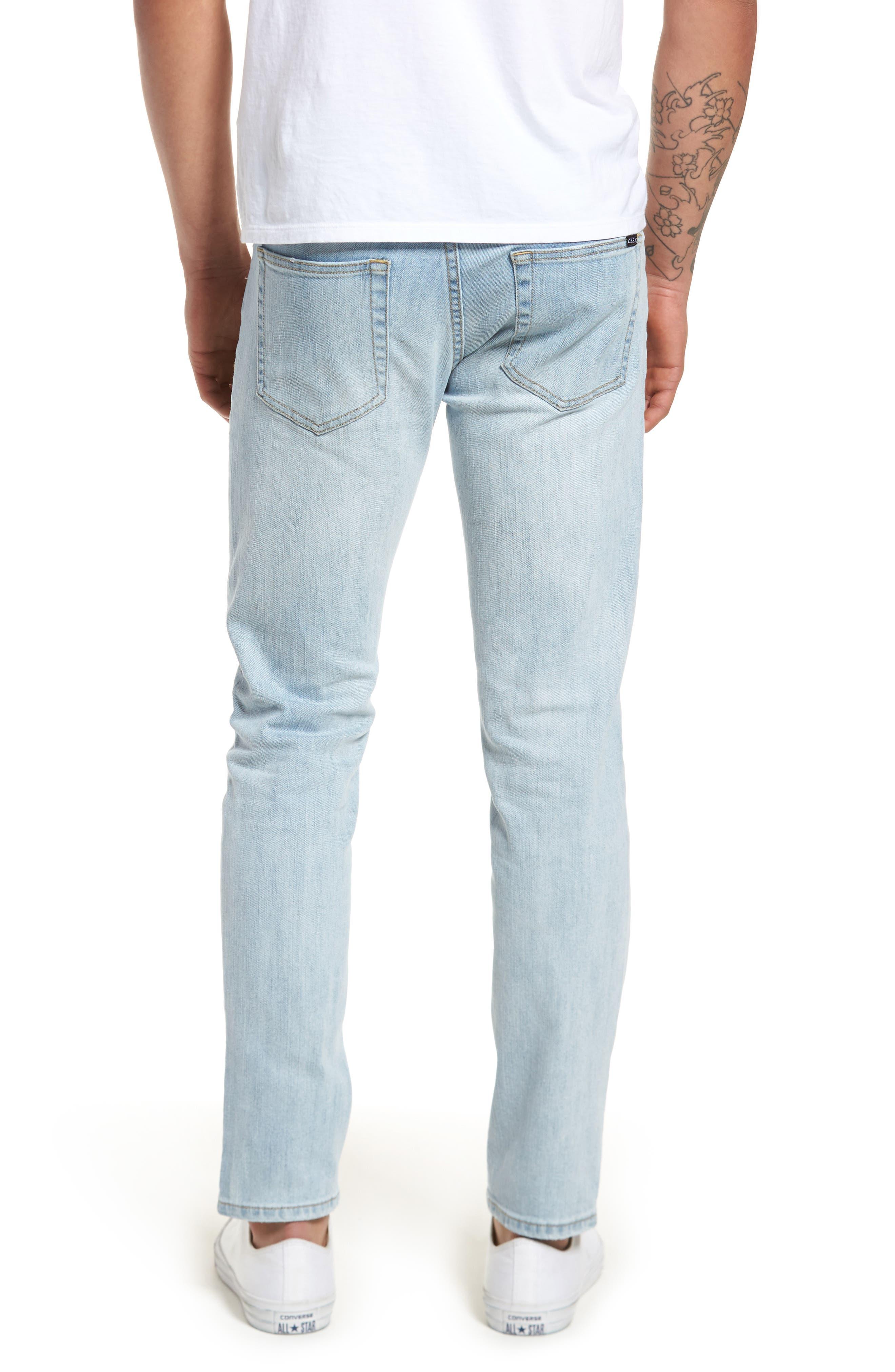 Juvee II Skinny Fit Jeans,                             Alternate thumbnail 2, color,                             400