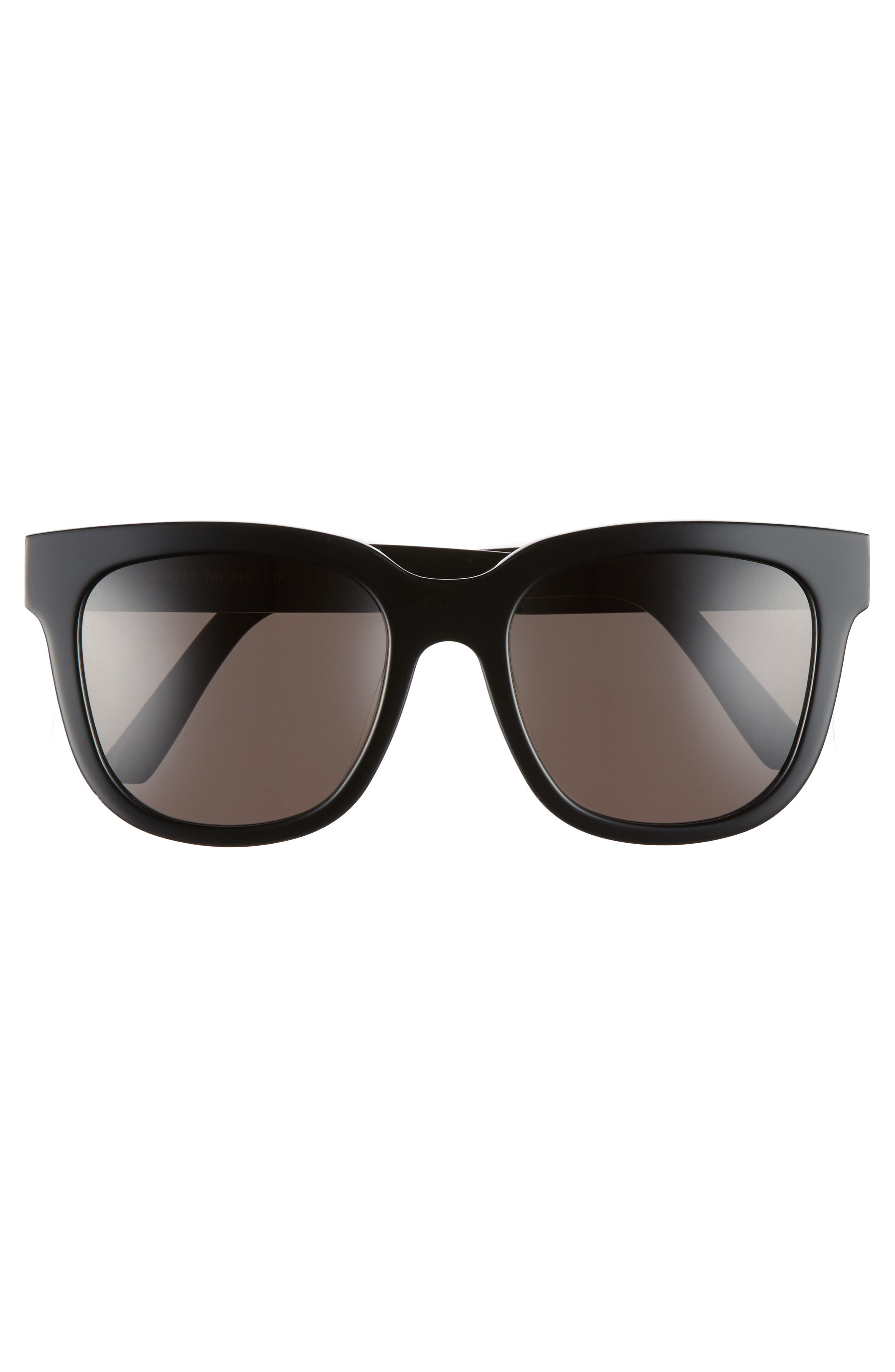 Salt 55mm Sunglasses,                             Alternate thumbnail 3, color,                             001