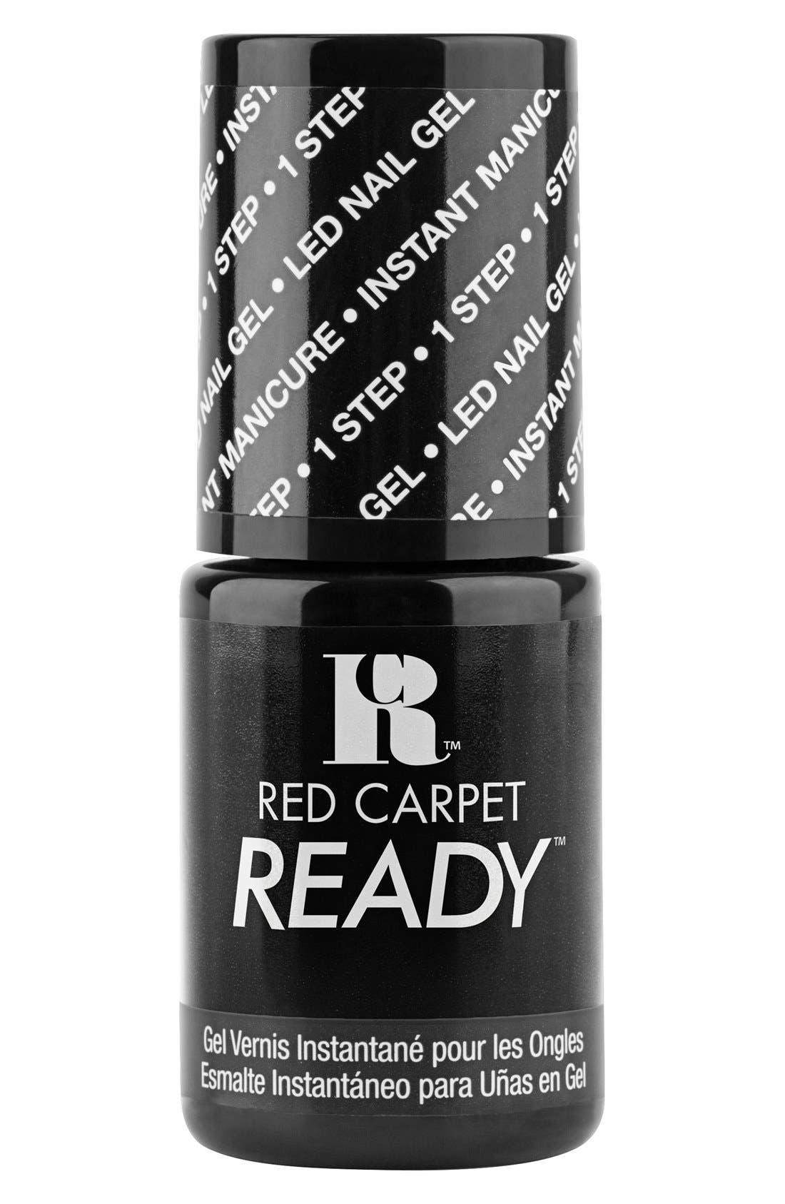 'Red Carpet Ready' LED Nail Gel Polish,                             Main thumbnail 1, color,                             001
