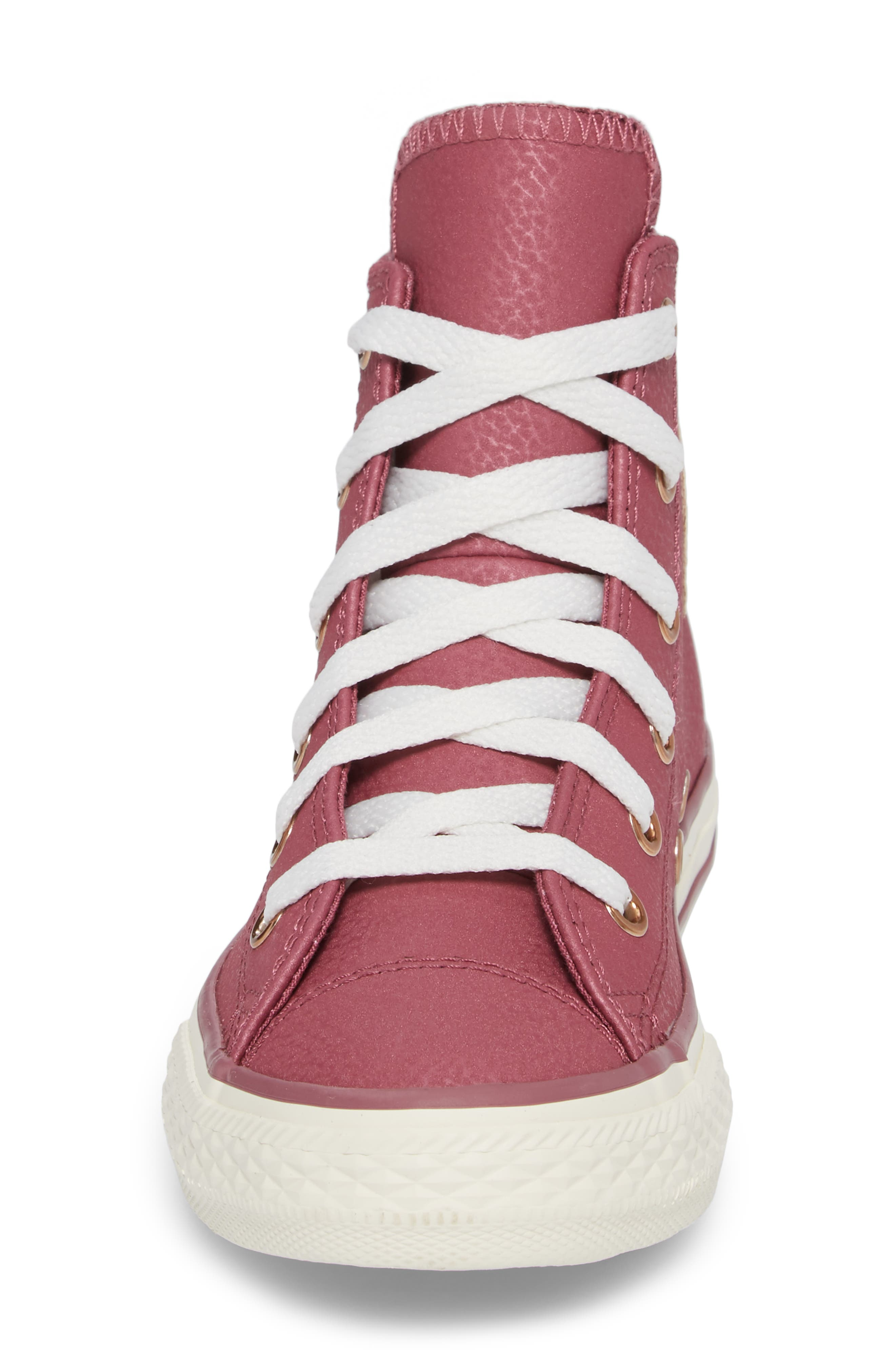 Chuck Taylor<sup>®</sup> All Star<sup>®</sup> High Top Sneaker,                             Alternate thumbnail 4, color,                             600