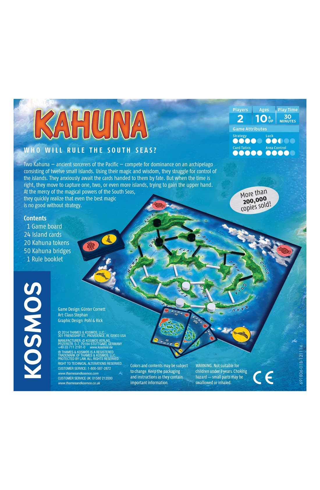 'Kahuna' Two-Player Board Game,                             Alternate thumbnail 2, color,                             400