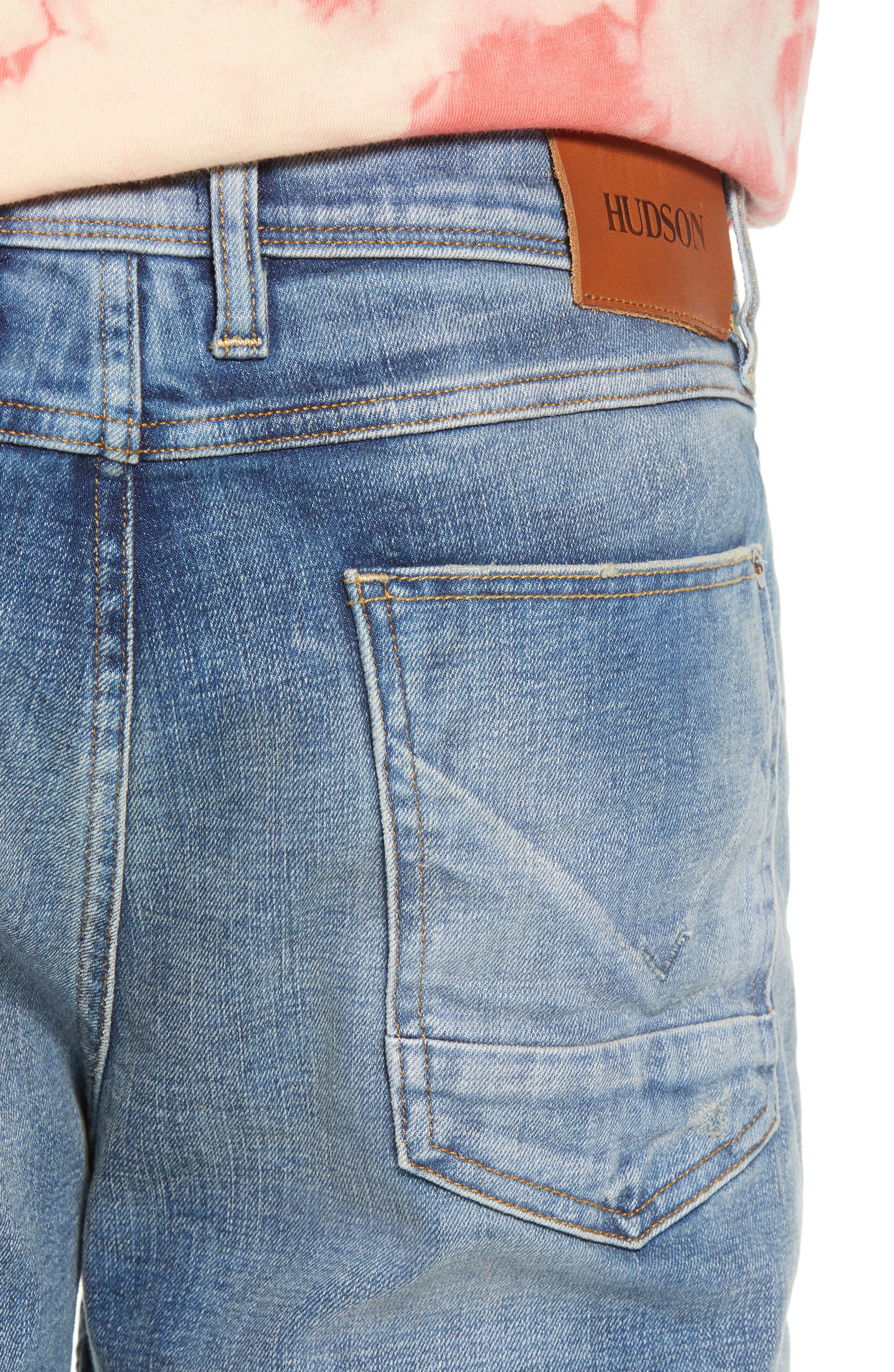 Sartor Slouchy Skinny Fit Jeans,                             Alternate thumbnail 4, color,                             429