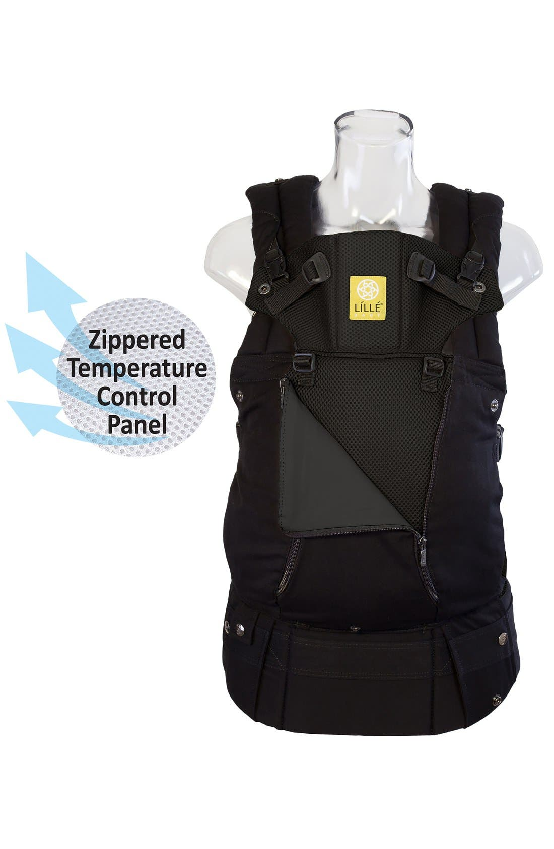 'Complete - All Seasons' Baby Carrier,                             Alternate thumbnail 3, color,                             BLACK
