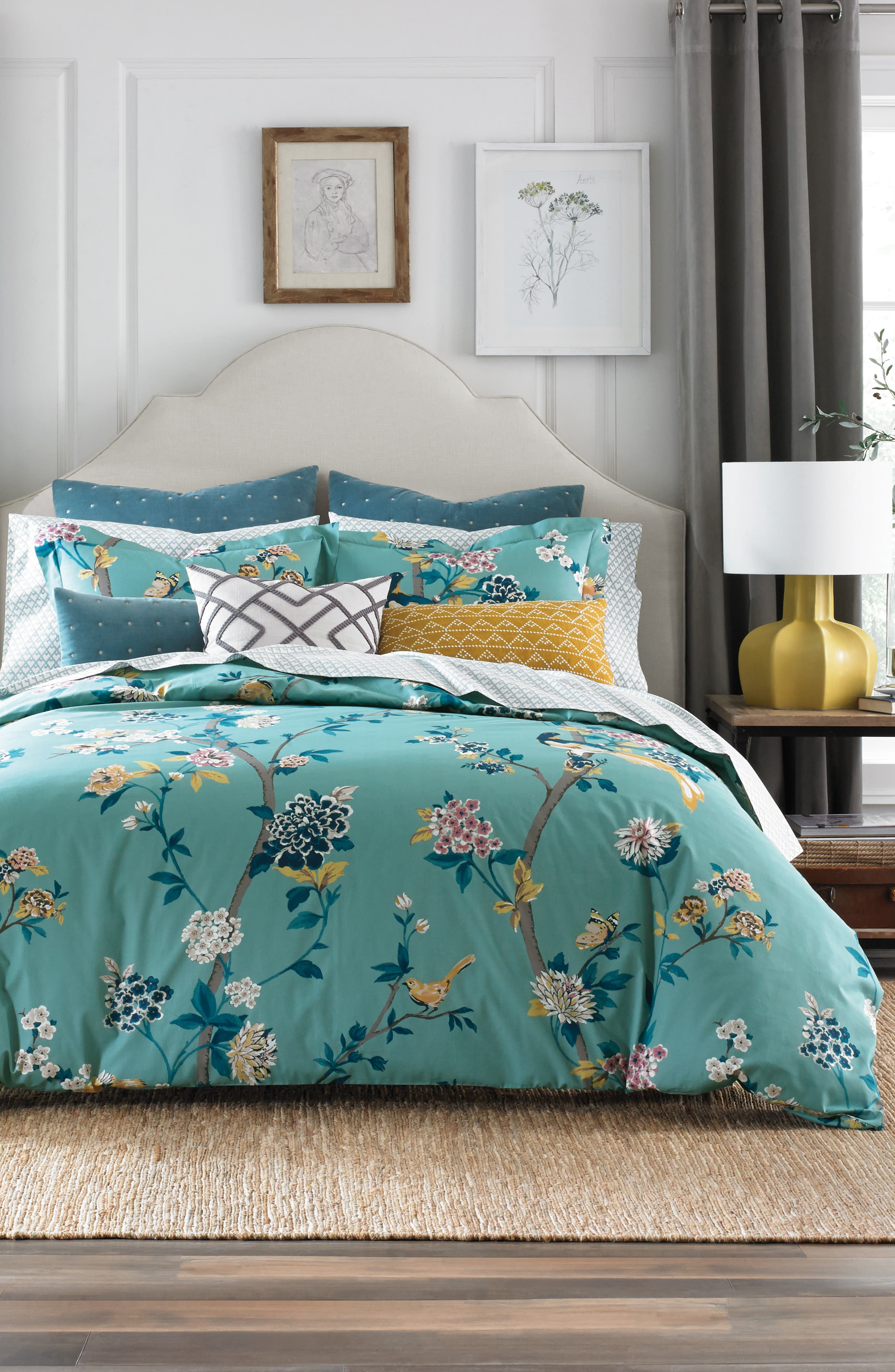 Juliette Duvet Cover,                             Main thumbnail 1, color,                             310