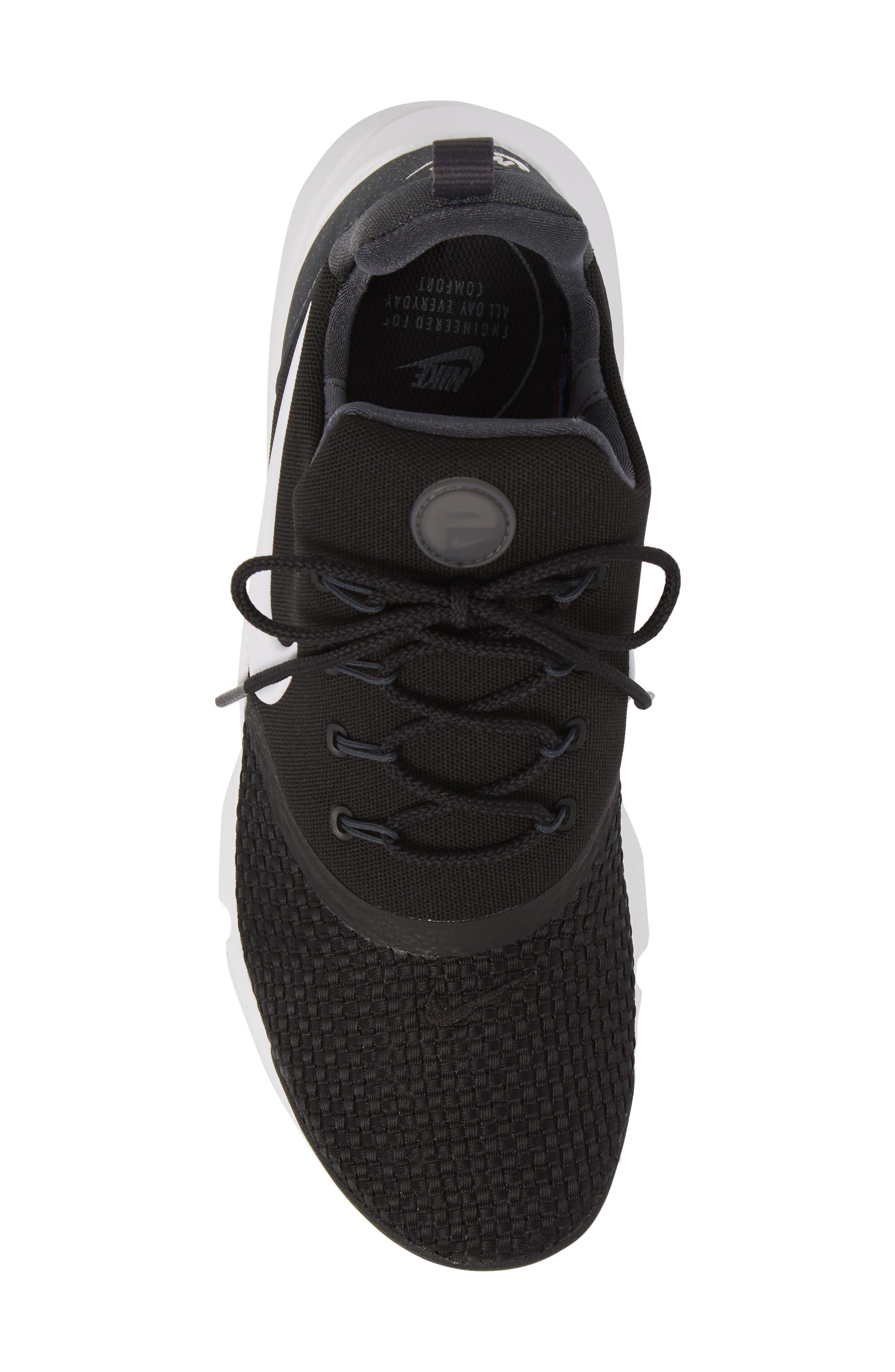 Presto Fly Sneaker,                             Alternate thumbnail 5, color,                             BLACK/ WHITE/ ANTHRACITE