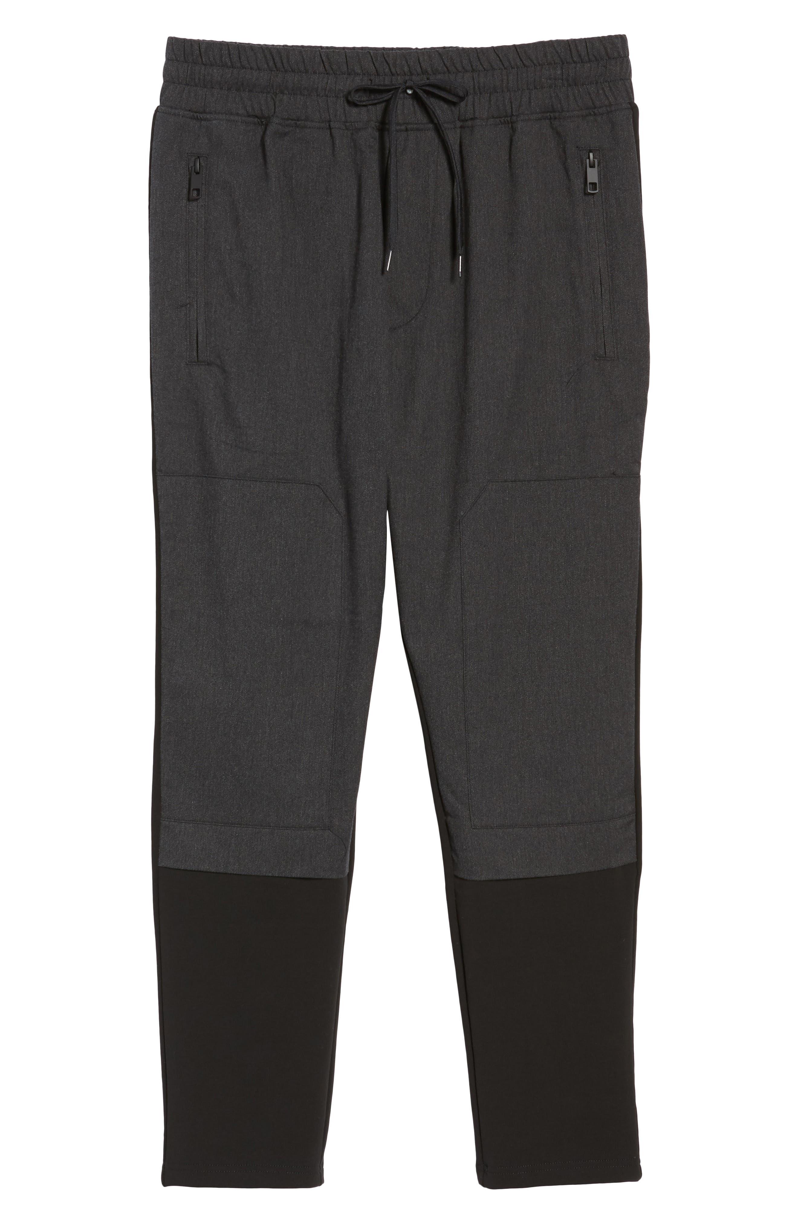 Fleece Pants,                             Alternate thumbnail 6, color,                             001
