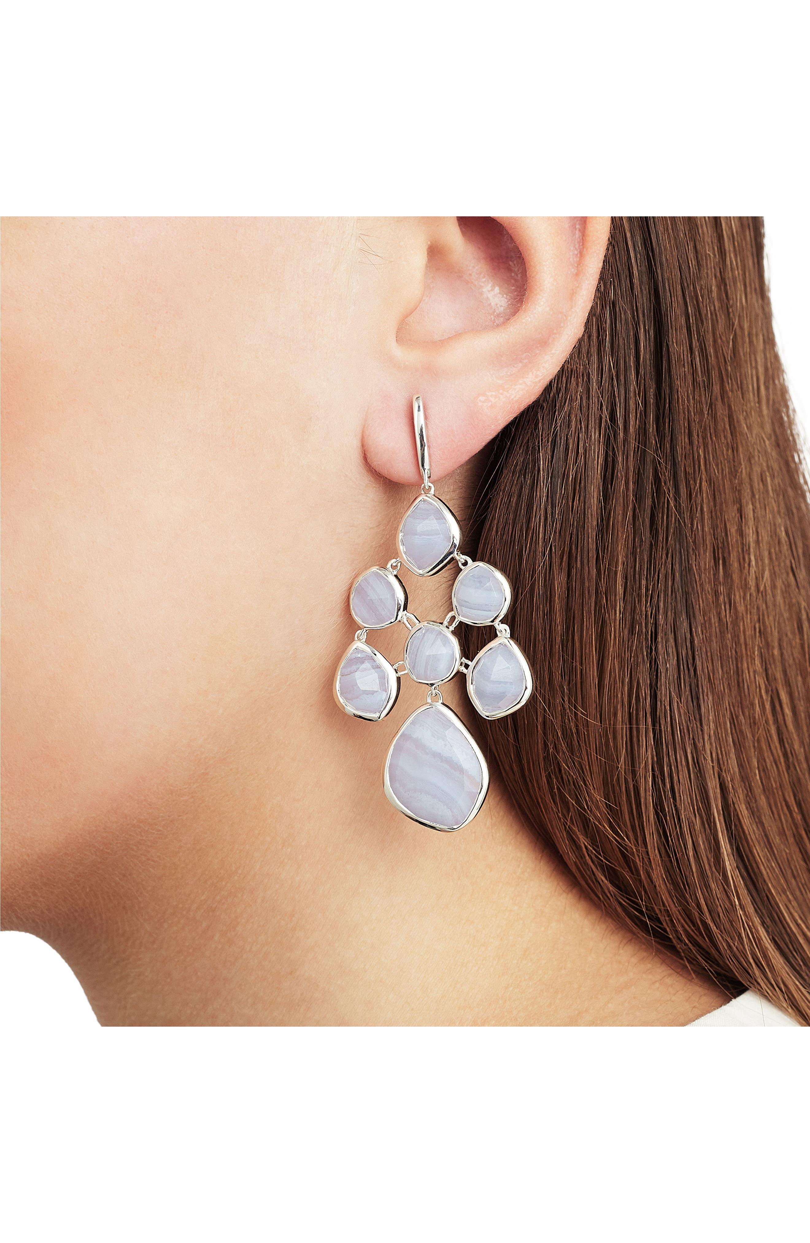 Siren Chandelier Earrings,                             Alternate thumbnail 2, color,                             040
