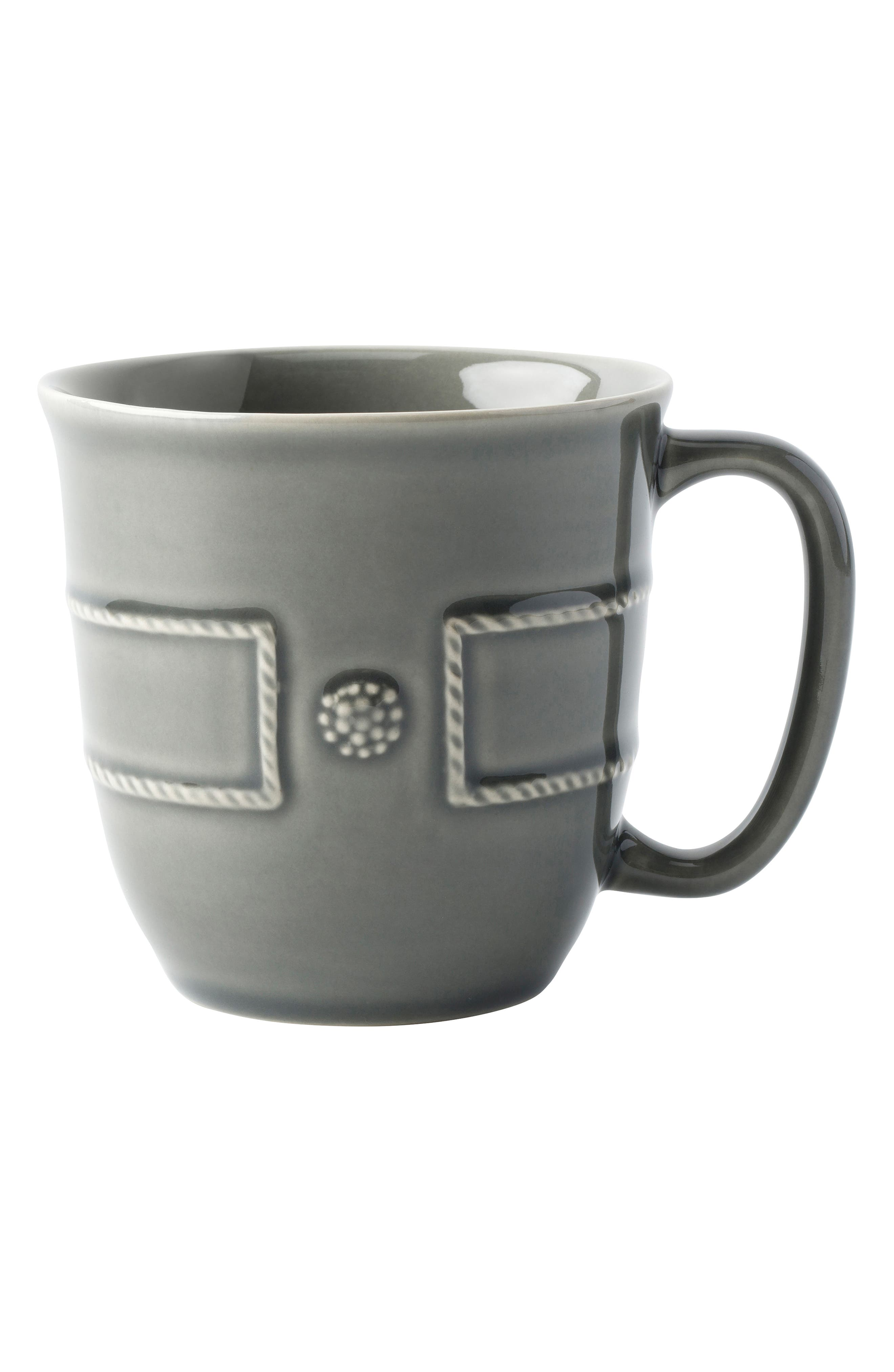 Berry & Thread French Panel Mug,                         Main,                         color, STONE GREY