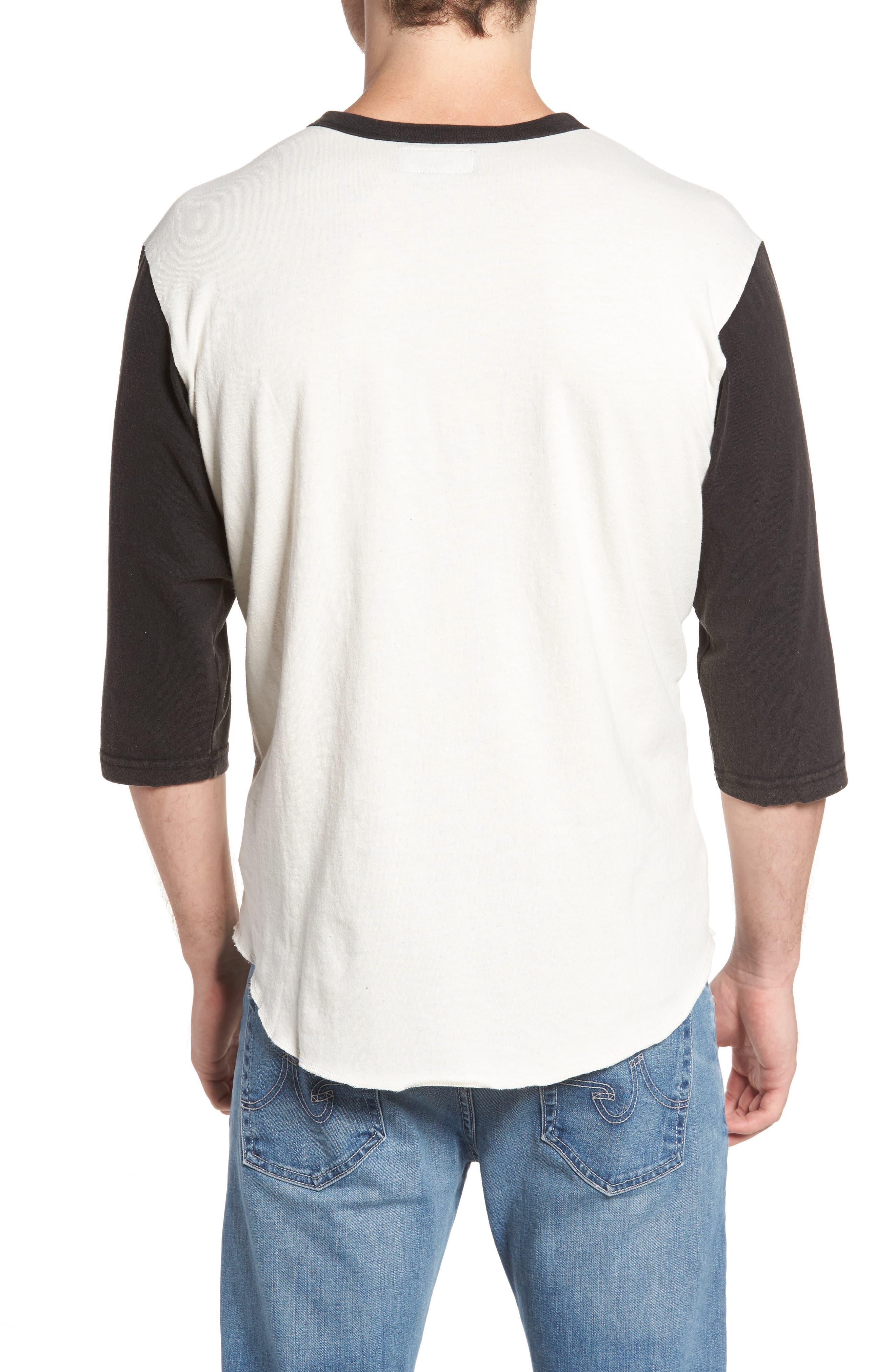 Washed Baseball T-Shirt,                             Alternate thumbnail 2, color,                             900