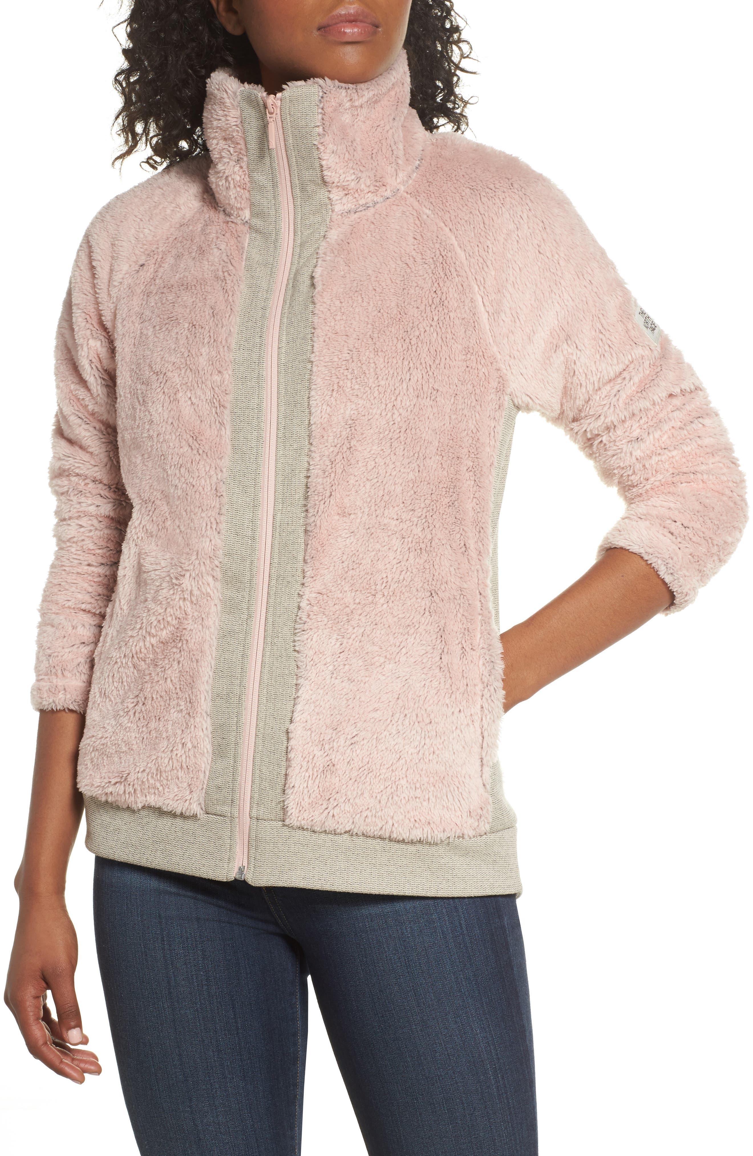 Furry Fleece Jacket,                             Alternate thumbnail 28, color,