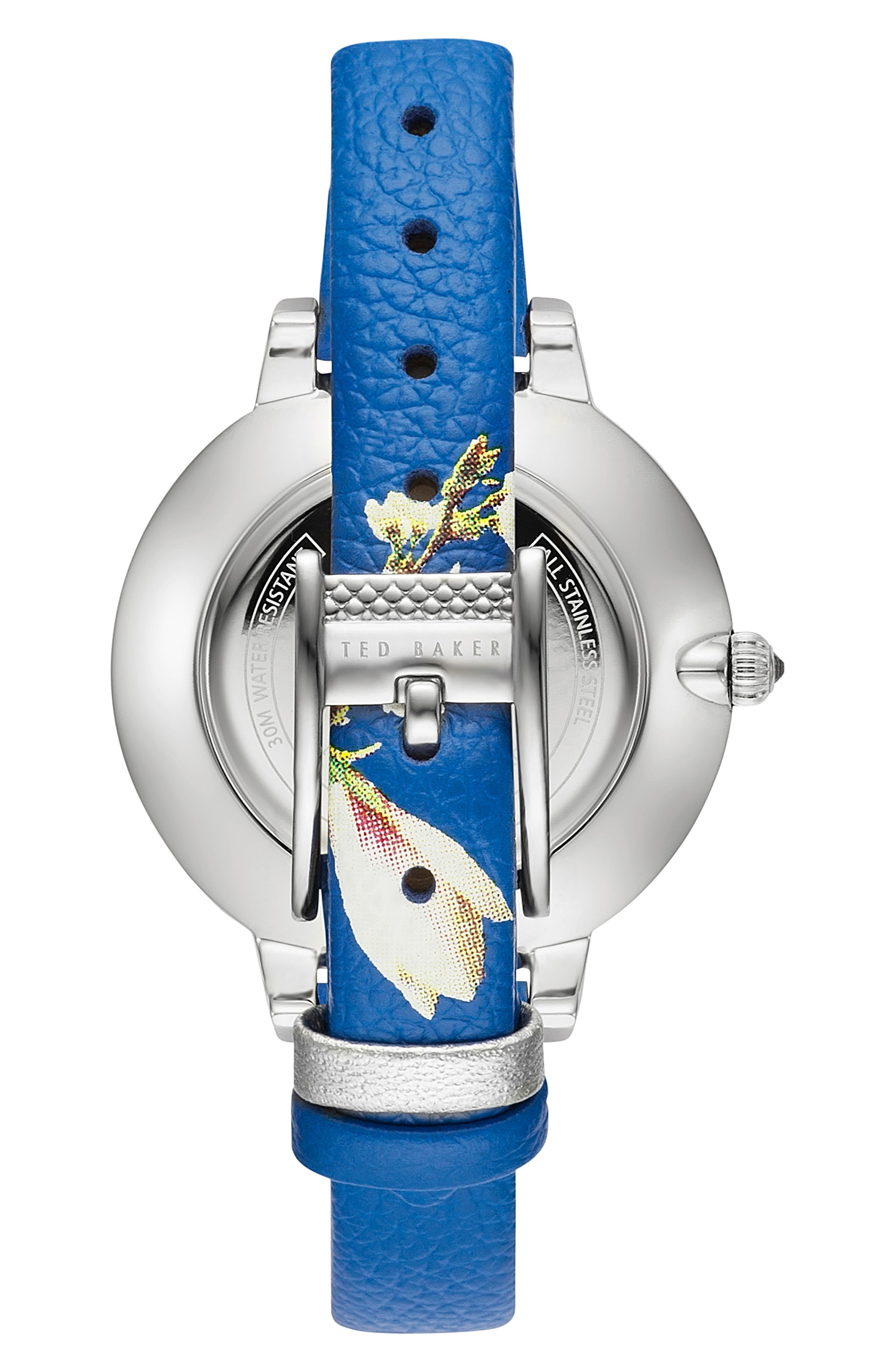 Kate Leather Strap Watch, 36mm,                             Alternate thumbnail 2, color,                             040