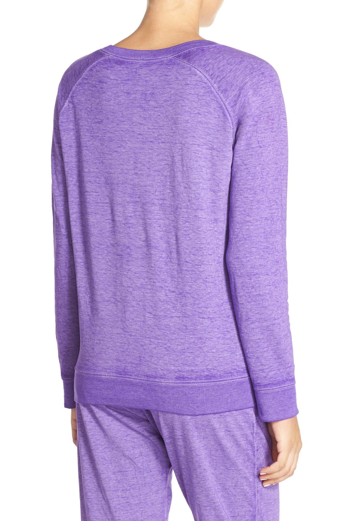 Burnout Lounge Sweatshirt,                             Alternate thumbnail 240, color,