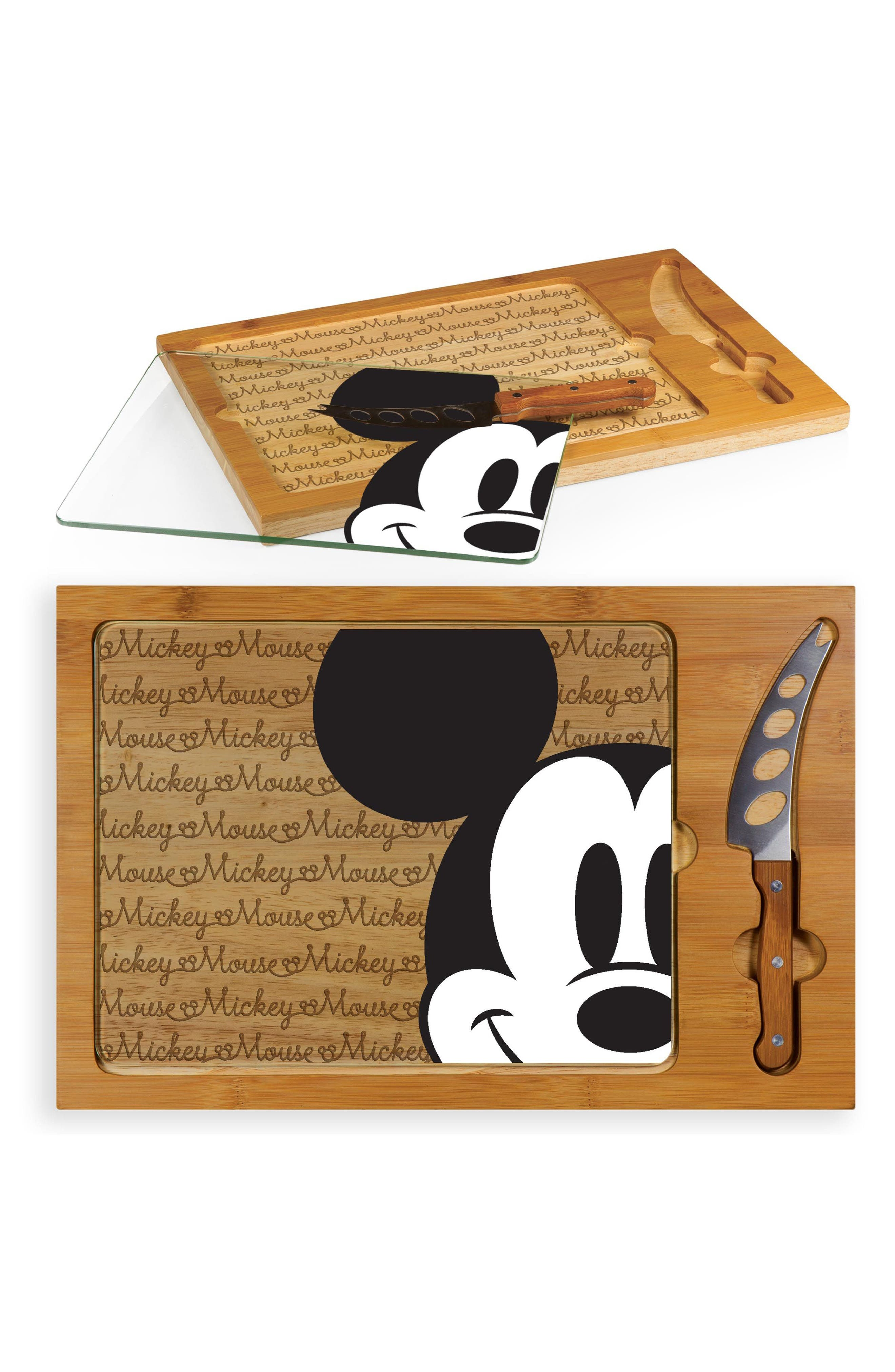Icon - Disney 3-Piece Cheese Board Set,                             Alternate thumbnail 3, color,                             200