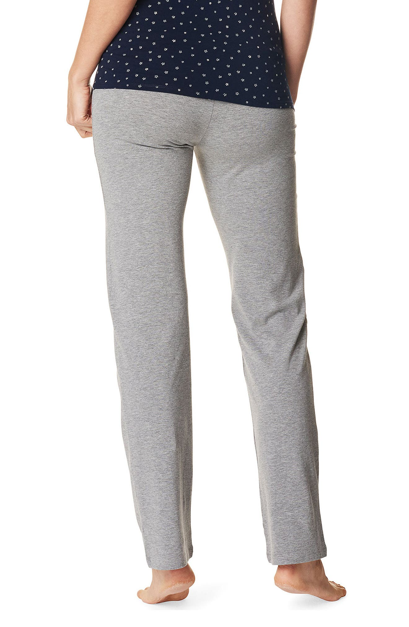 Mette Maternity Pants,                             Alternate thumbnail 2, color,                             GREY