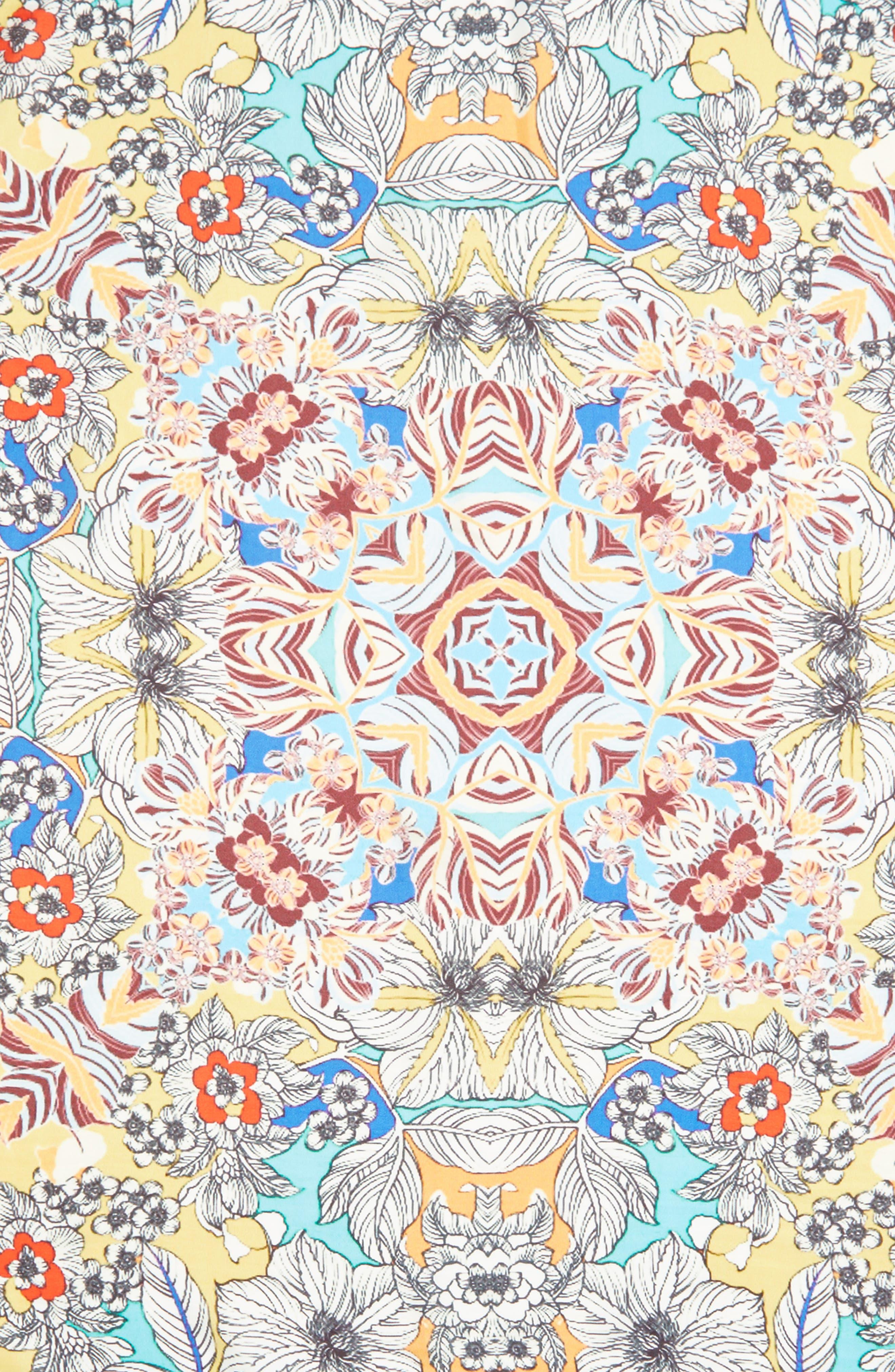 Maitri Silk Square Scarf,                             Alternate thumbnail 4, color,                             400