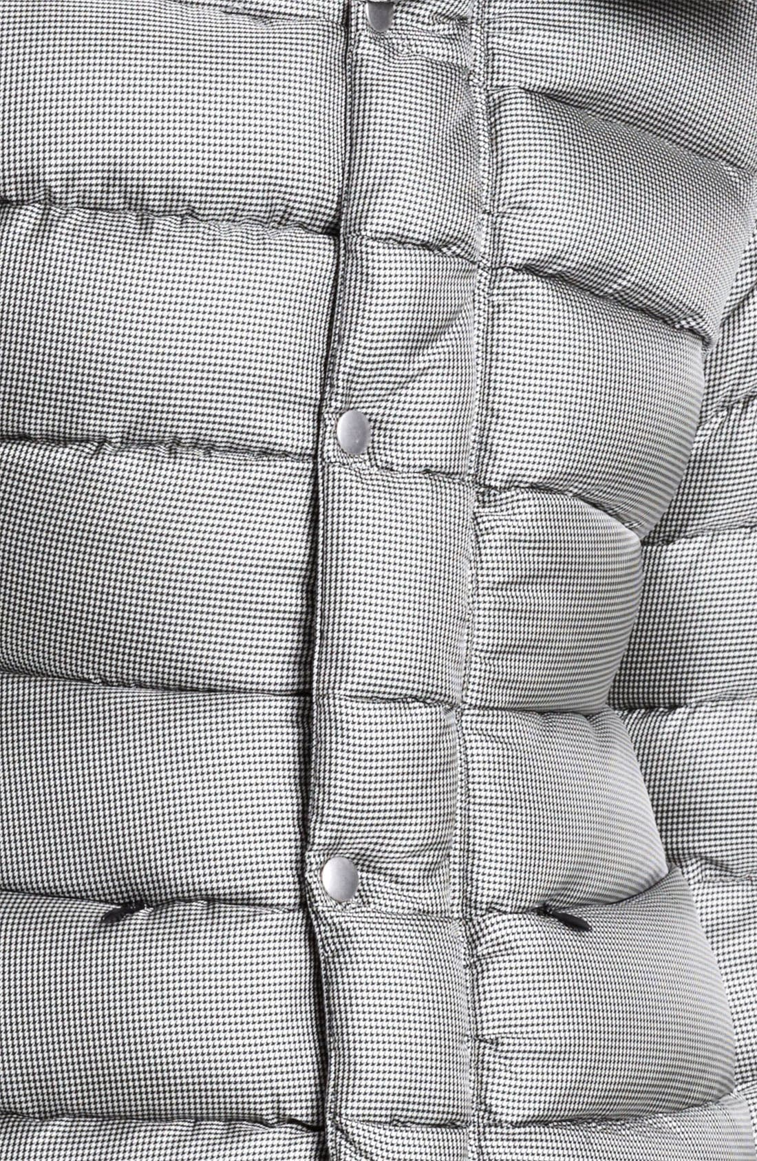 Houndstooth Puffer Jacket,                             Alternate thumbnail 2, color,                             005