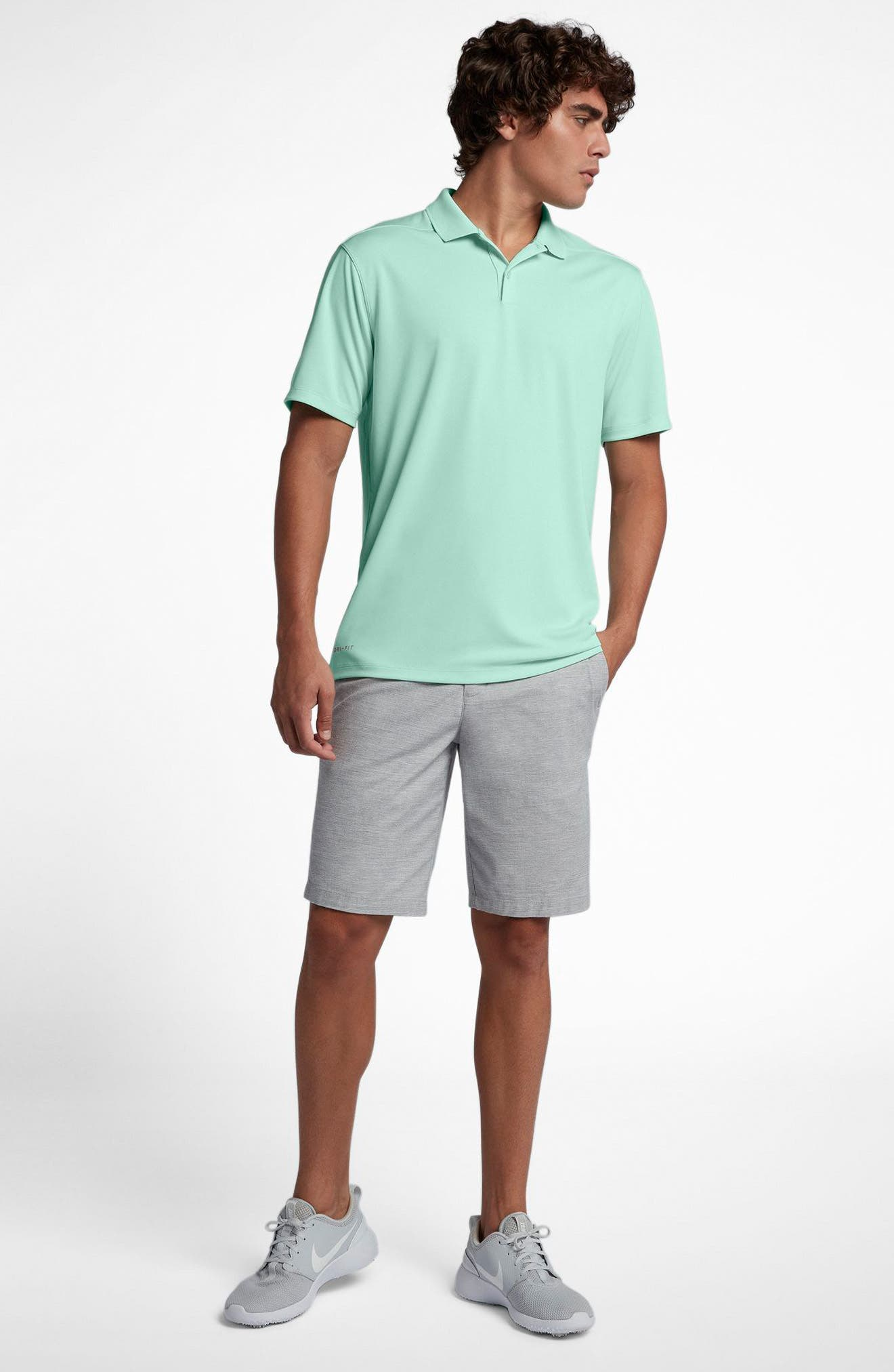 Dry Victory Golf Polo,                             Alternate thumbnail 6, color,                             IGLOO/ FLT SILVER