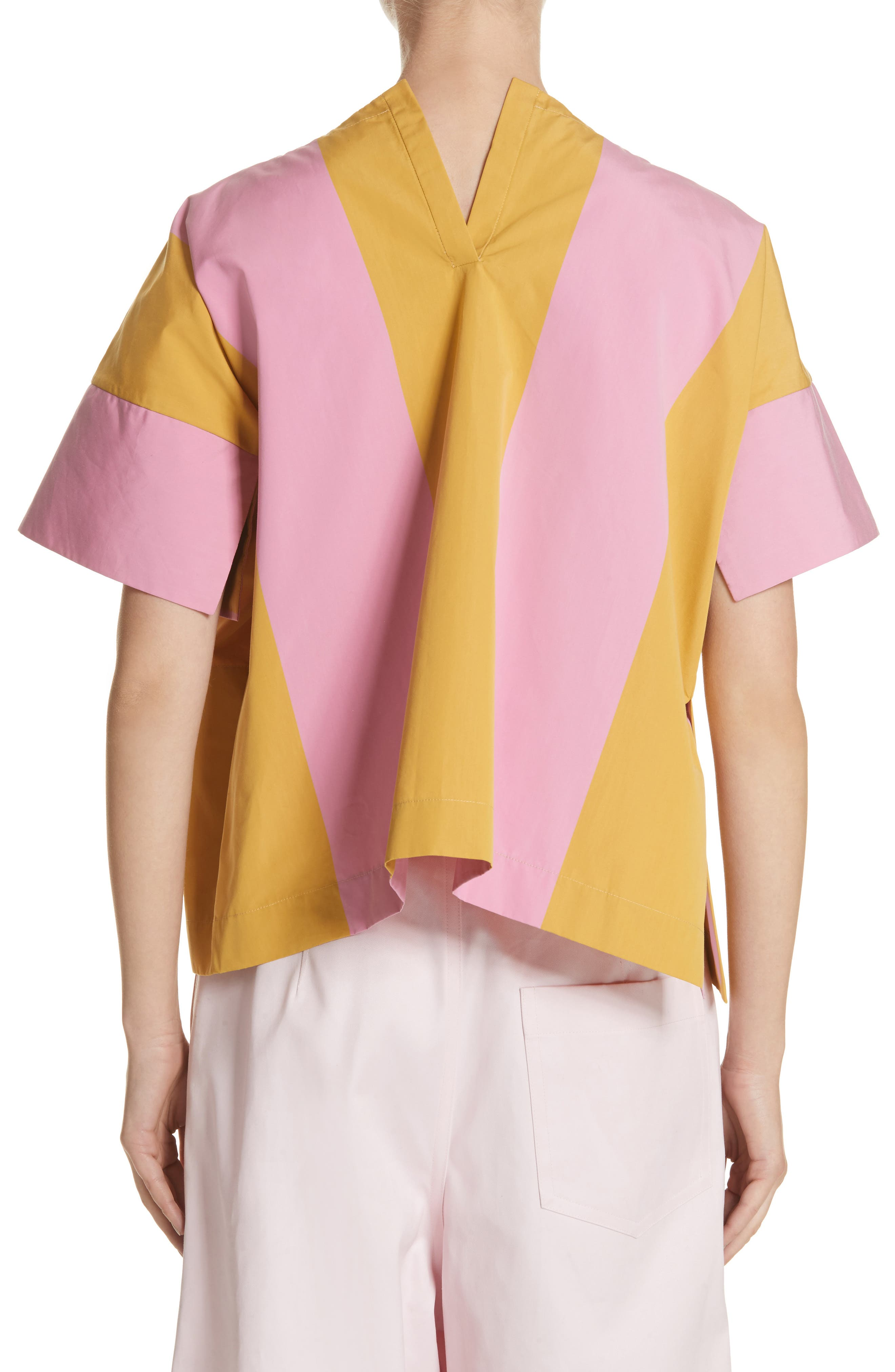 T-Top Side Slit Blouse,                             Alternate thumbnail 2, color,                             650
