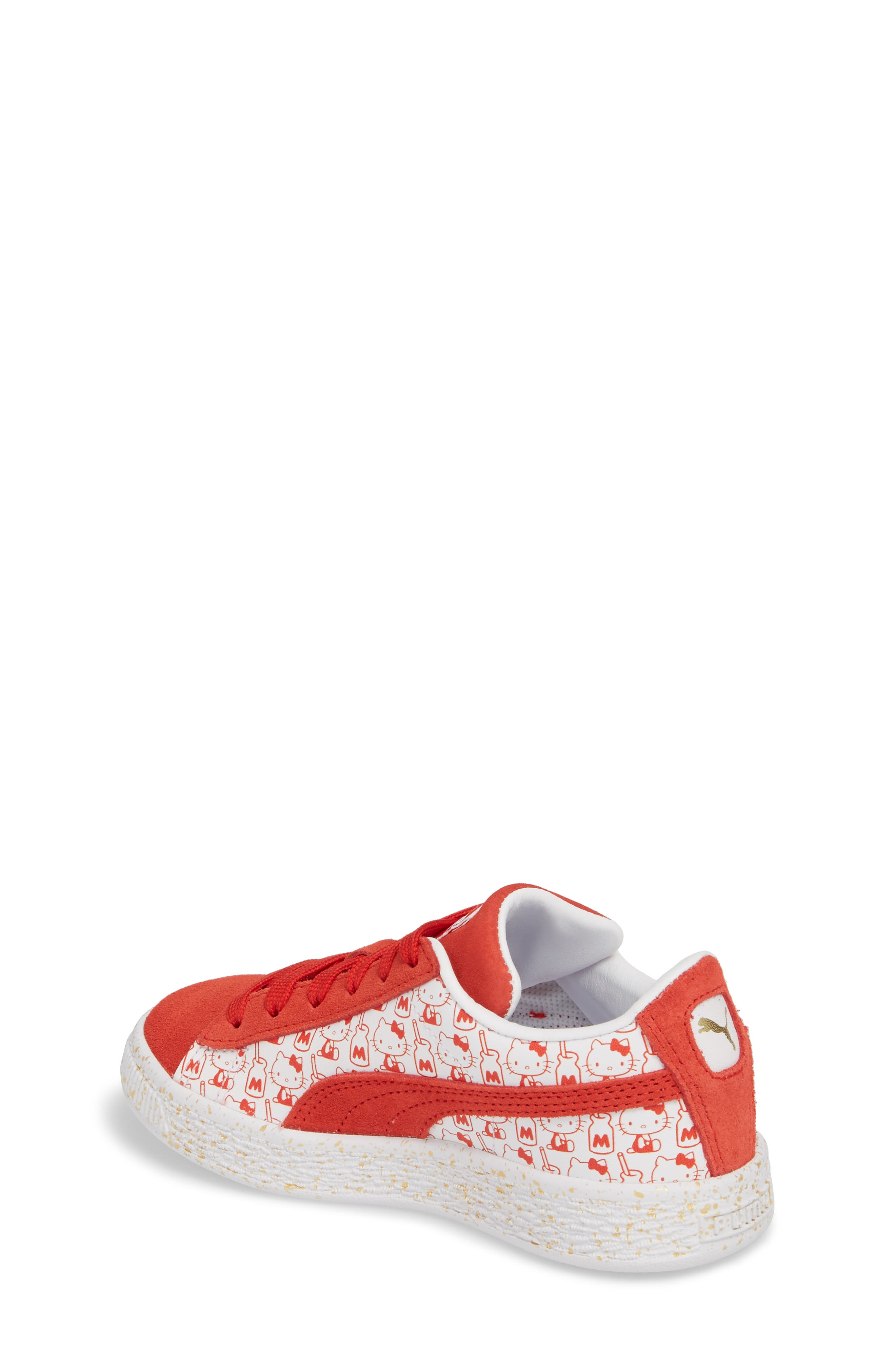 x Hello Kitty Suede Classic Sneaker,                             Alternate thumbnail 2, color,                             600