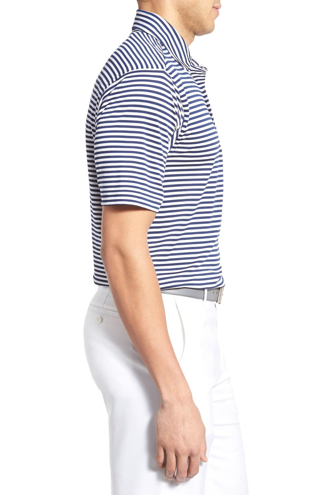 XH2O Feed Stripe Stretch Golf Polo,                             Alternate thumbnail 49, color,
