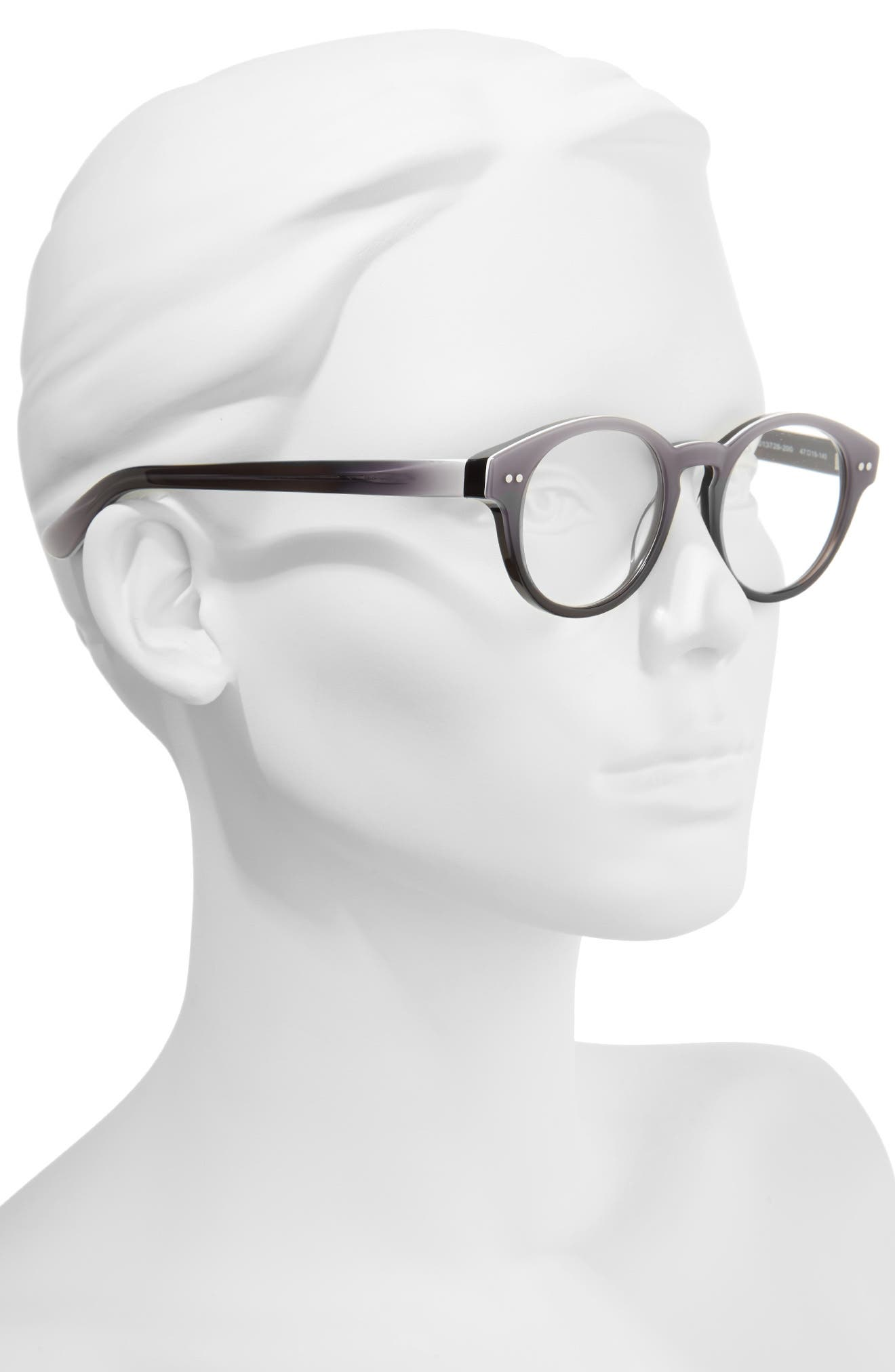 Harriet 47mm Reading Glasses,                             Alternate thumbnail 2, color,                             020