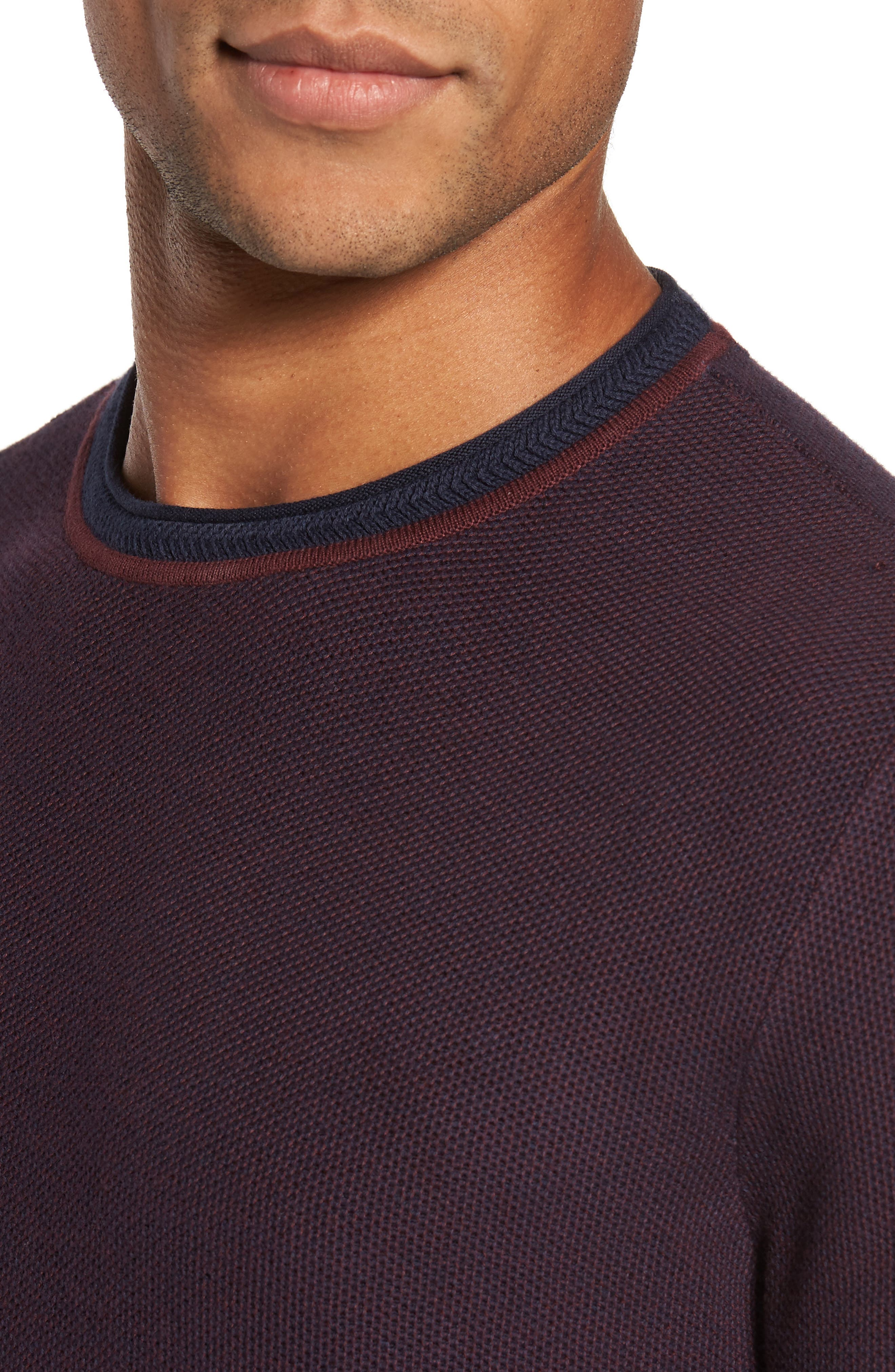 Space Dye Slim Fit Sweater,                             Alternate thumbnail 12, color,