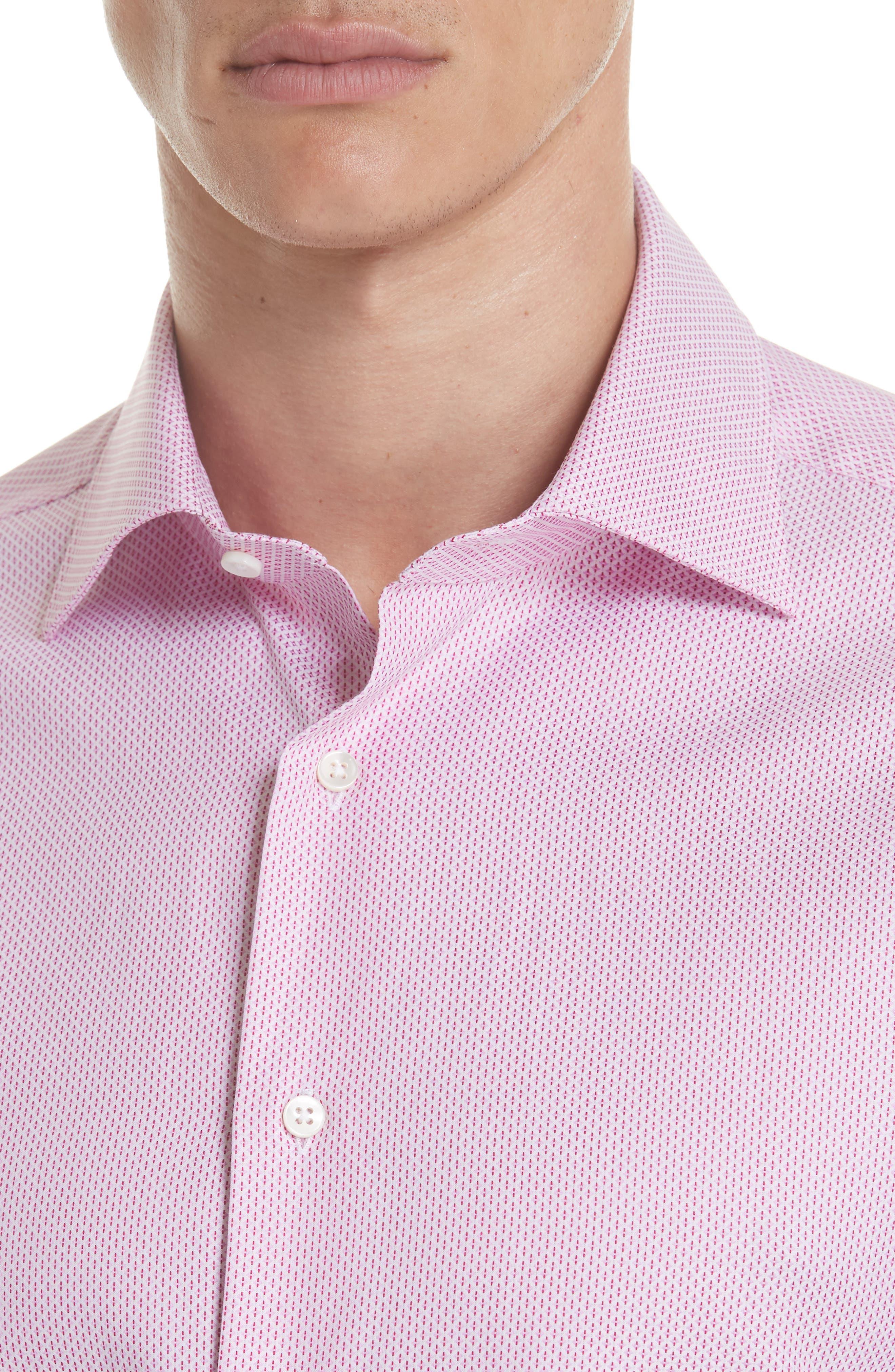 Regular Fit Geometric Print Dress Shirt,                             Alternate thumbnail 2, color,