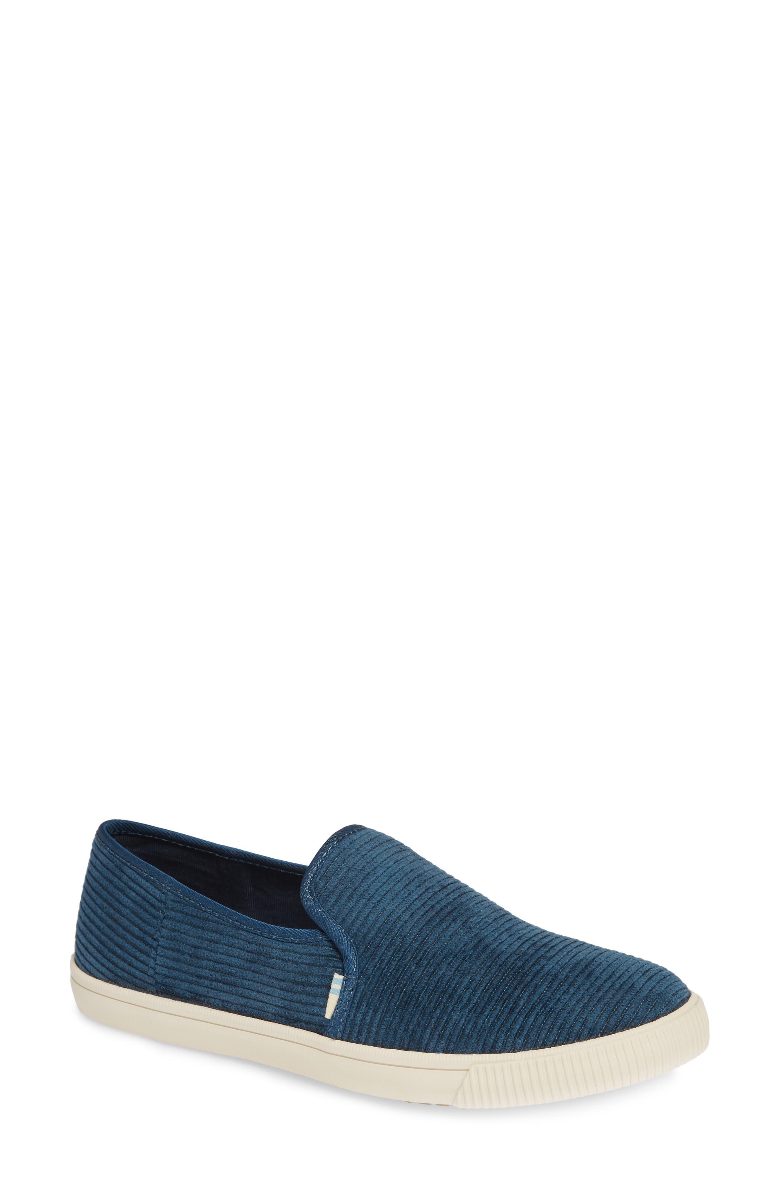Clemente Slip-On,                         Main,                         color, ATLANTIC CORDUROY FABRIC