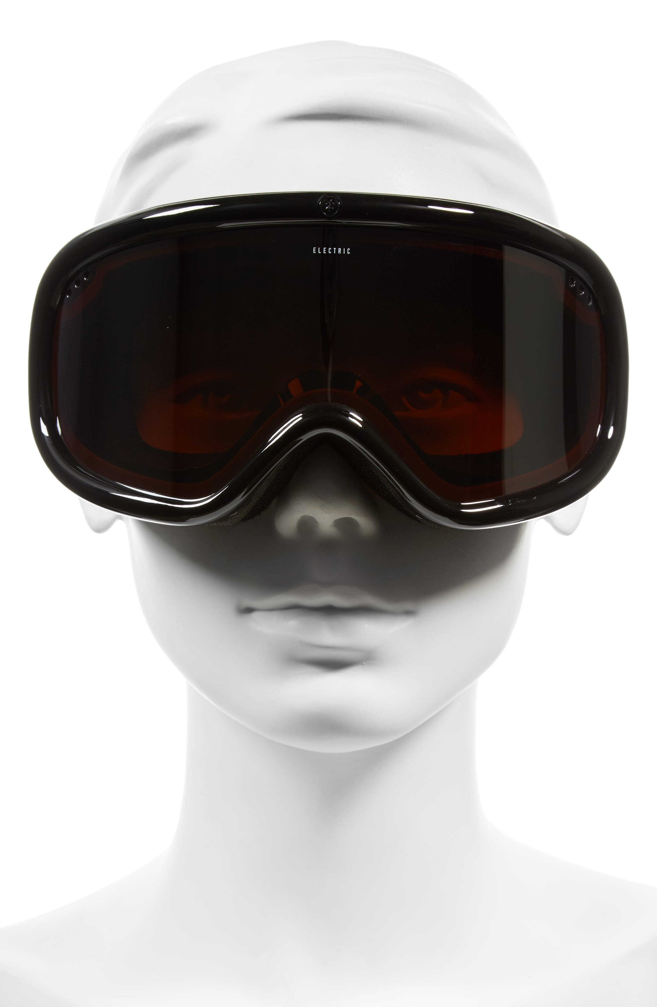 Charger 215mm Snow Goggles,                             Alternate thumbnail 3, color,                             001