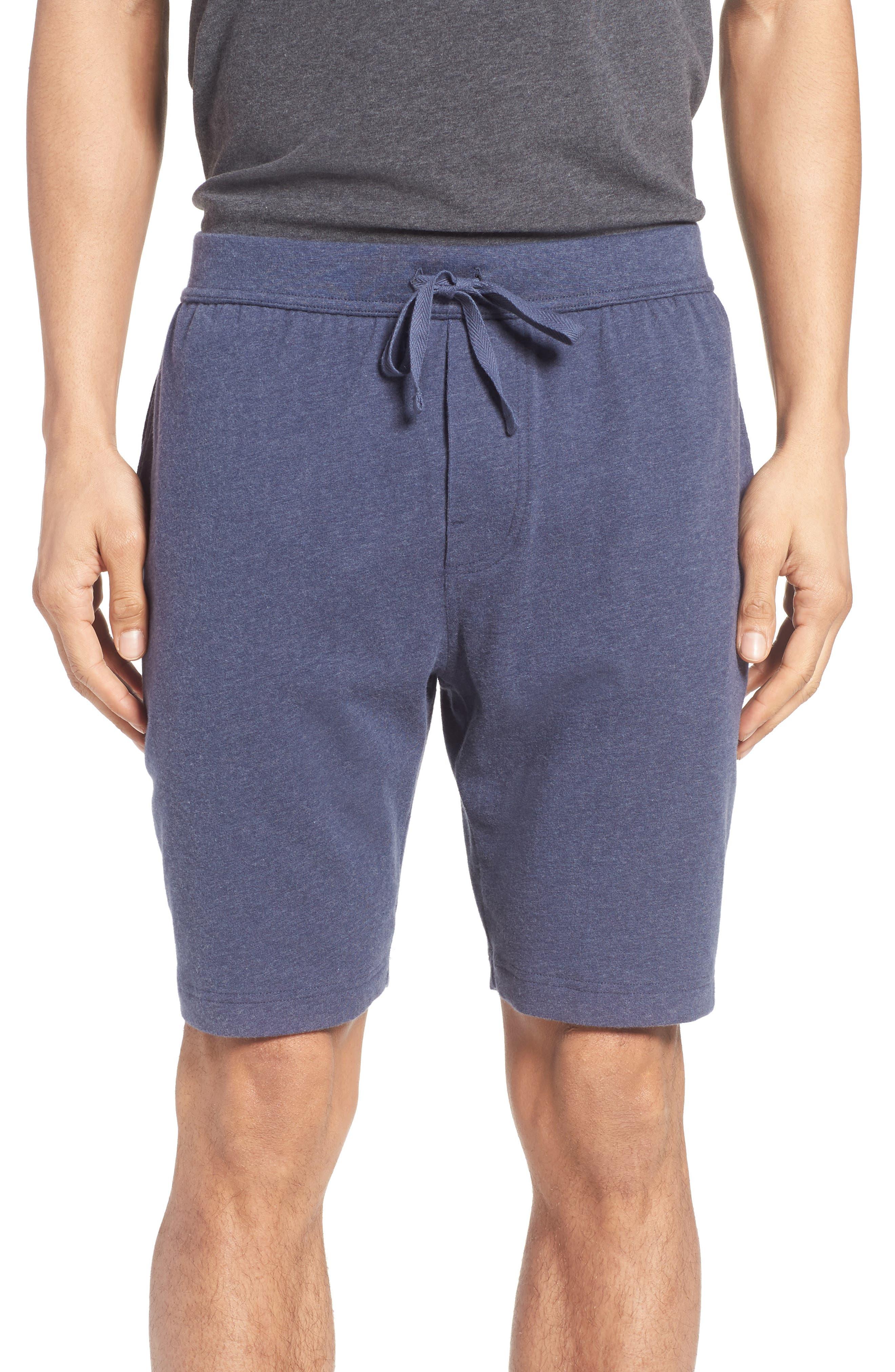 Stretch Cotton Lounge Shorts,                             Main thumbnail 2, color,