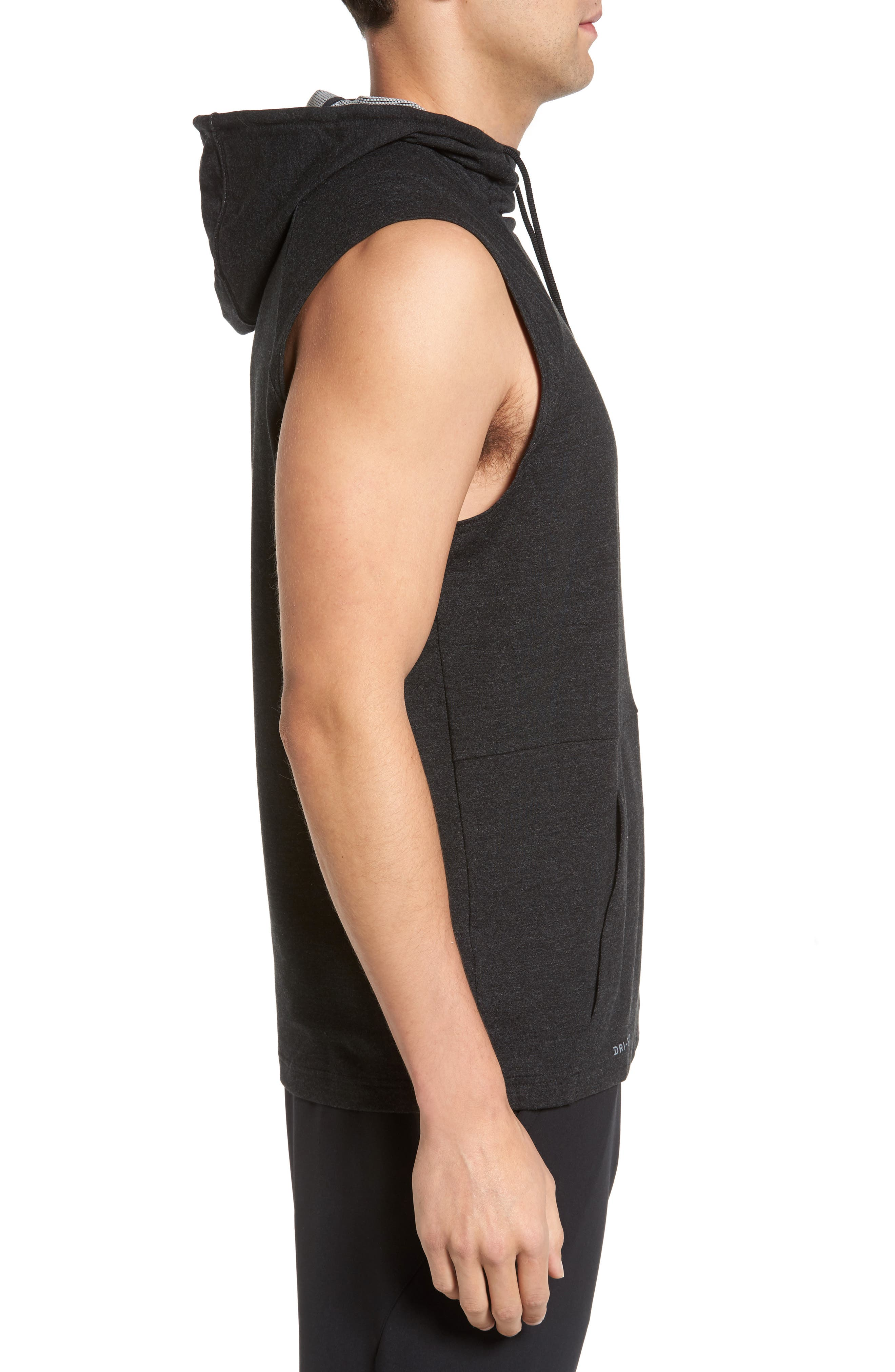 23 Tech Sphere Sleeveless Training Hoodie,                             Alternate thumbnail 3, color,                             010
