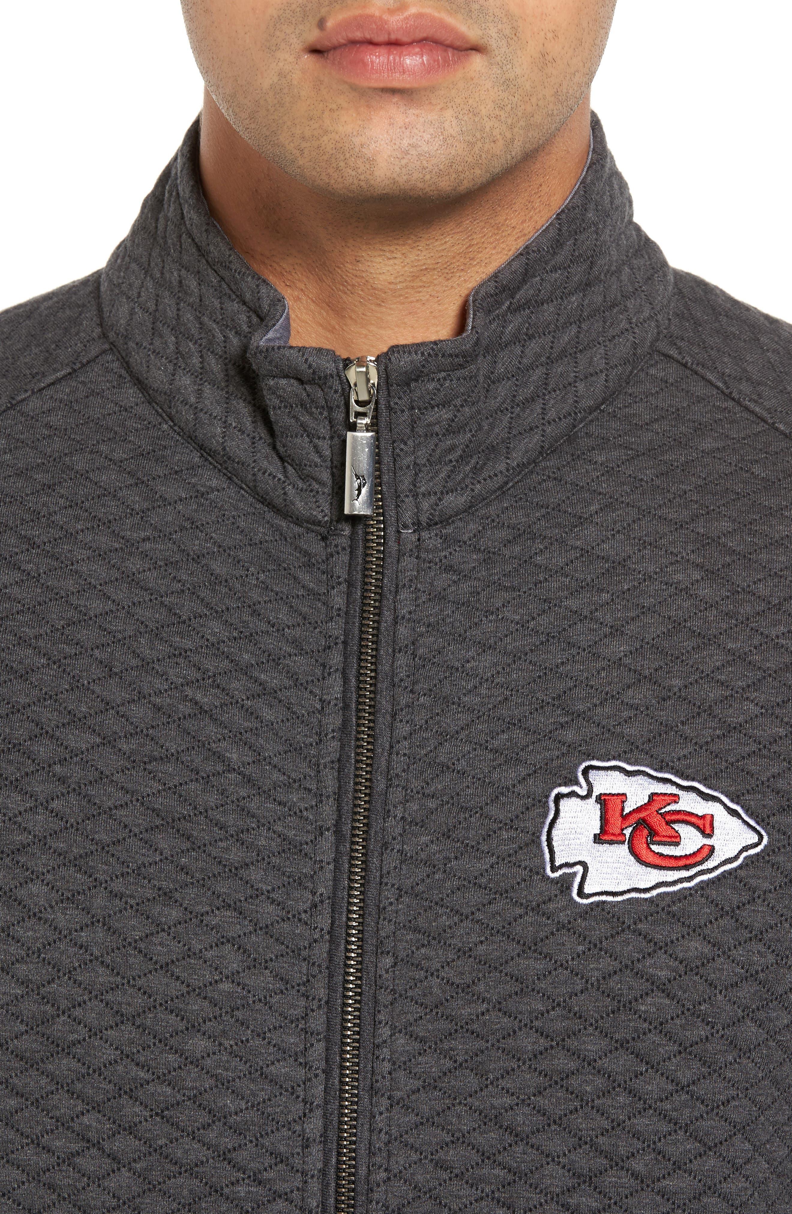 NFL Quiltessential Full Zip Sweatshirt,                             Alternate thumbnail 103, color,