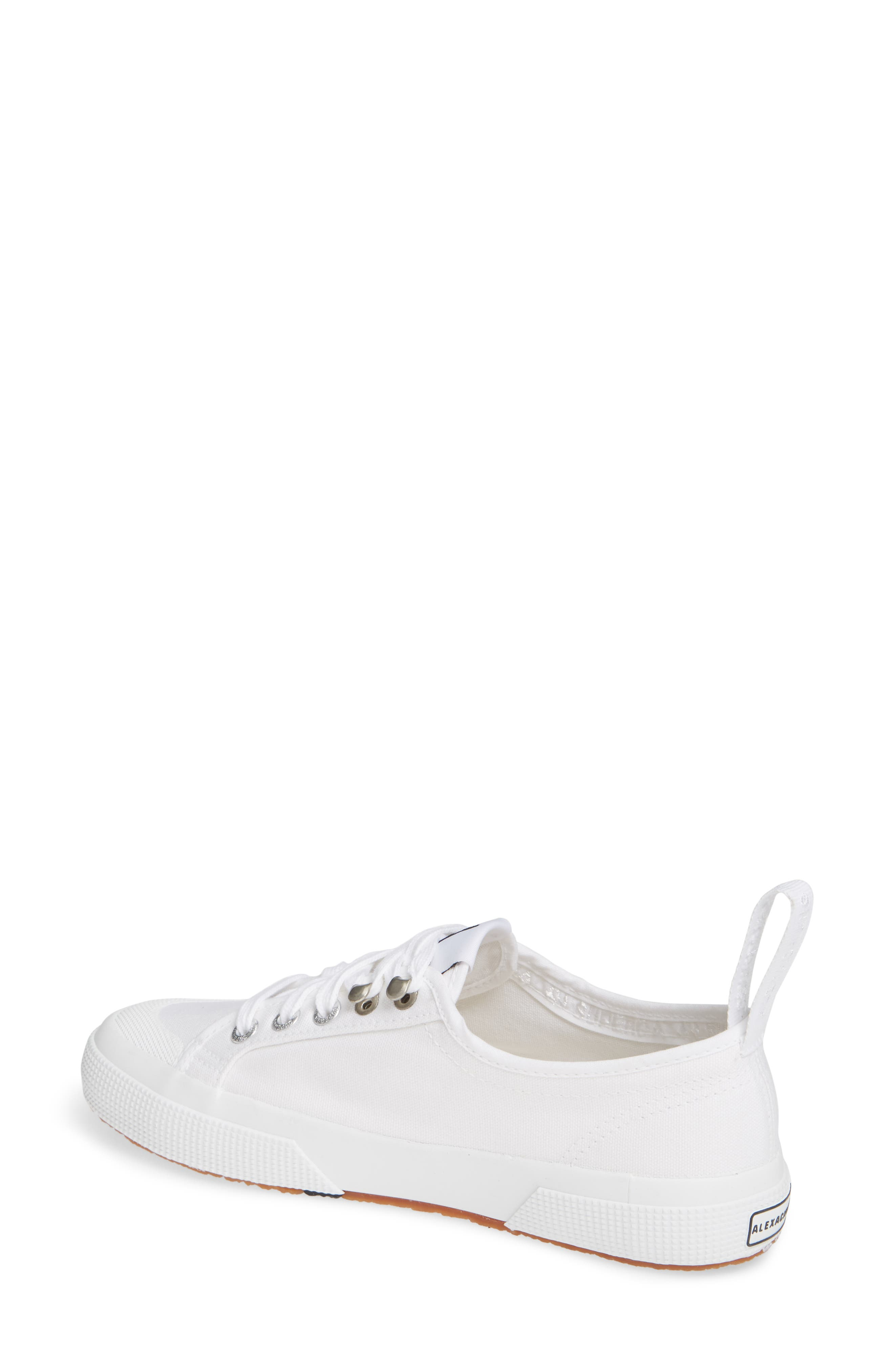x Alexa Chung 2294 Cothookw Low Top Sneaker,                             Alternate thumbnail 2, color,                             WHITE