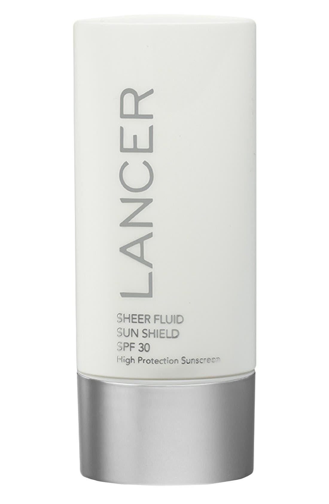 Sheer Fluid Sun Shield SPF 30,                             Main thumbnail 1, color,                             NO COLOR