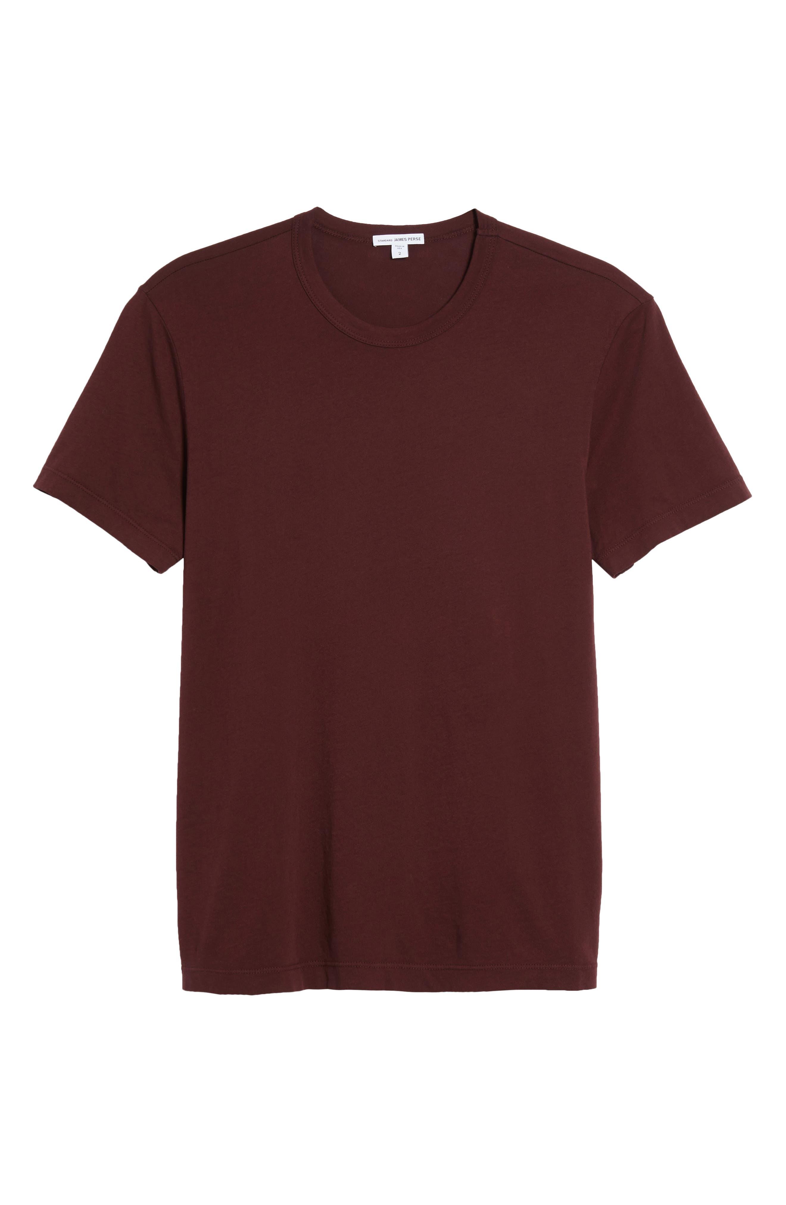 Crewneck Jersey T-Shirt,                             Alternate thumbnail 481, color,