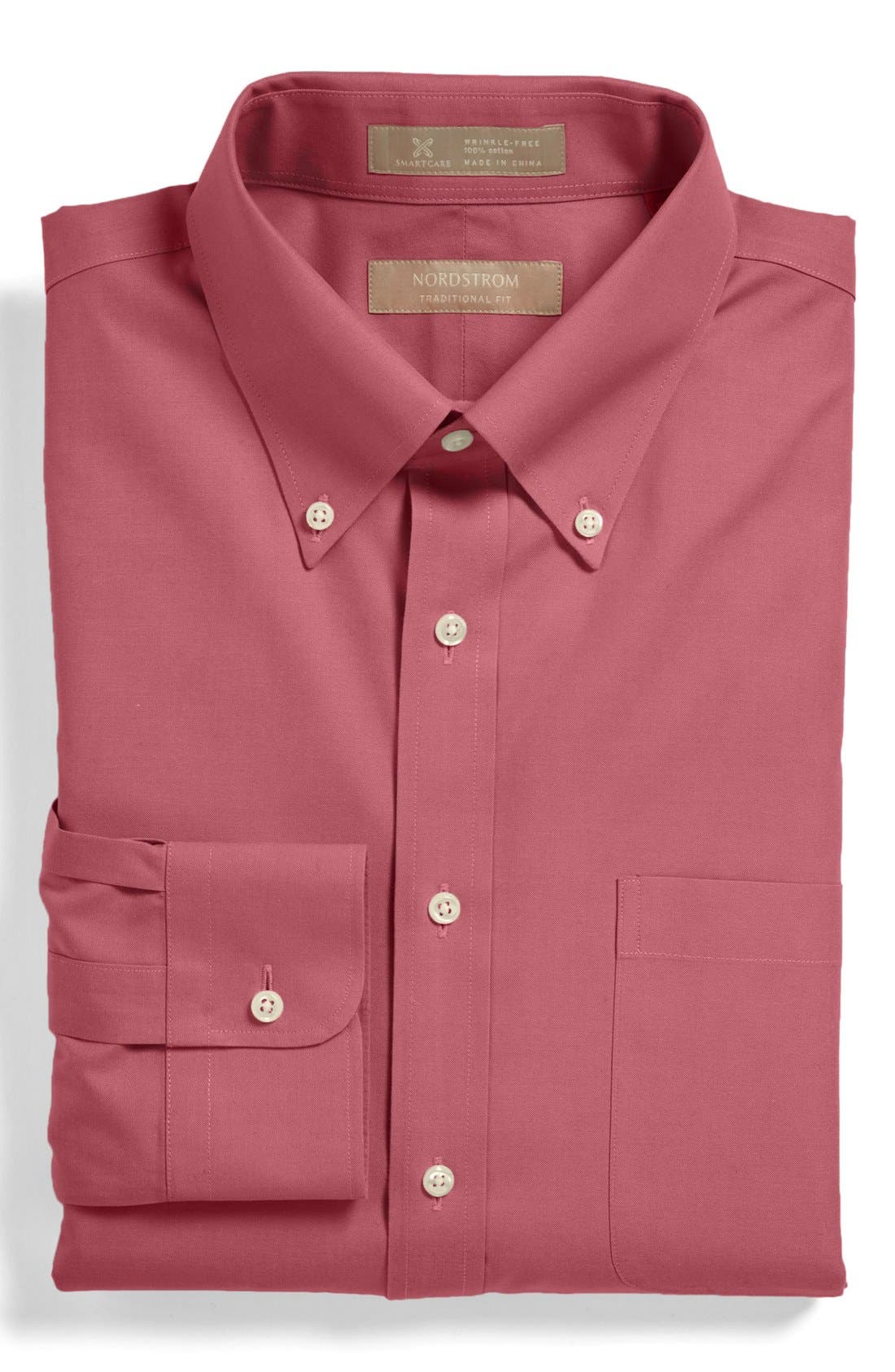 Smartcare<sup>™</sup> Traditional Fit Pinpoint Dress Shirt,                             Main thumbnail 31, color,
